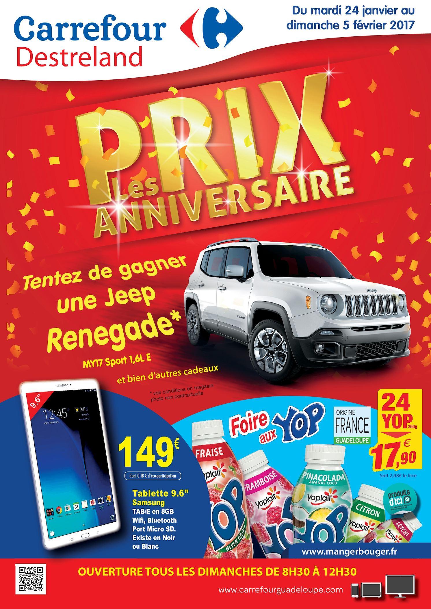 Calaméo Carrefour Destreland Catalogue Anniversaire 0117