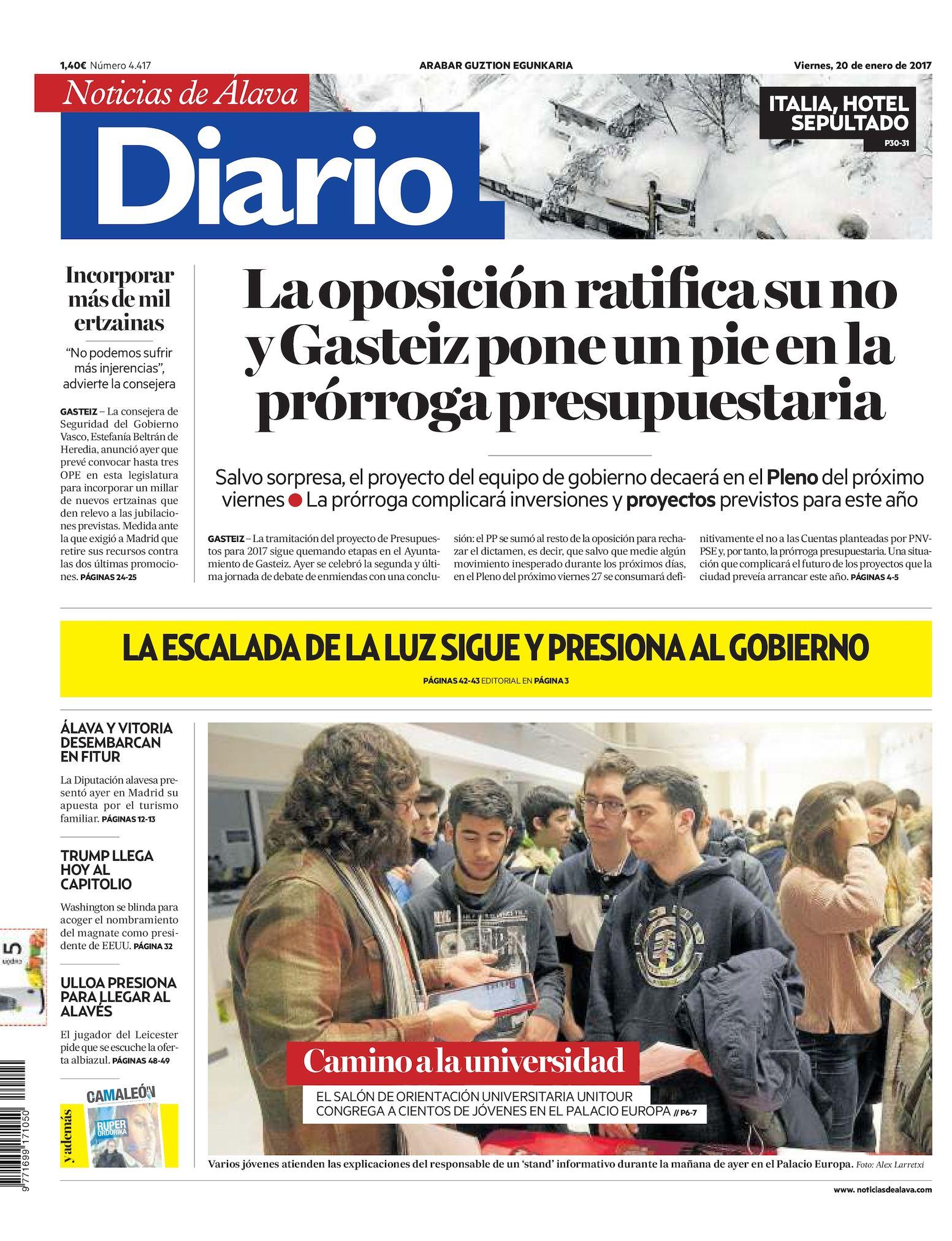 new styles ca015 2dd97 Calaméo - Diario de Noticias de Álava 20170120