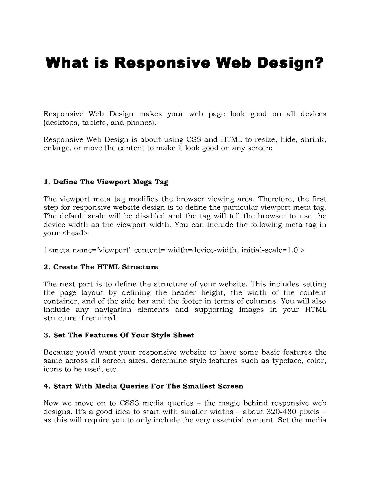 Calameo What Is Responsive Web Design
