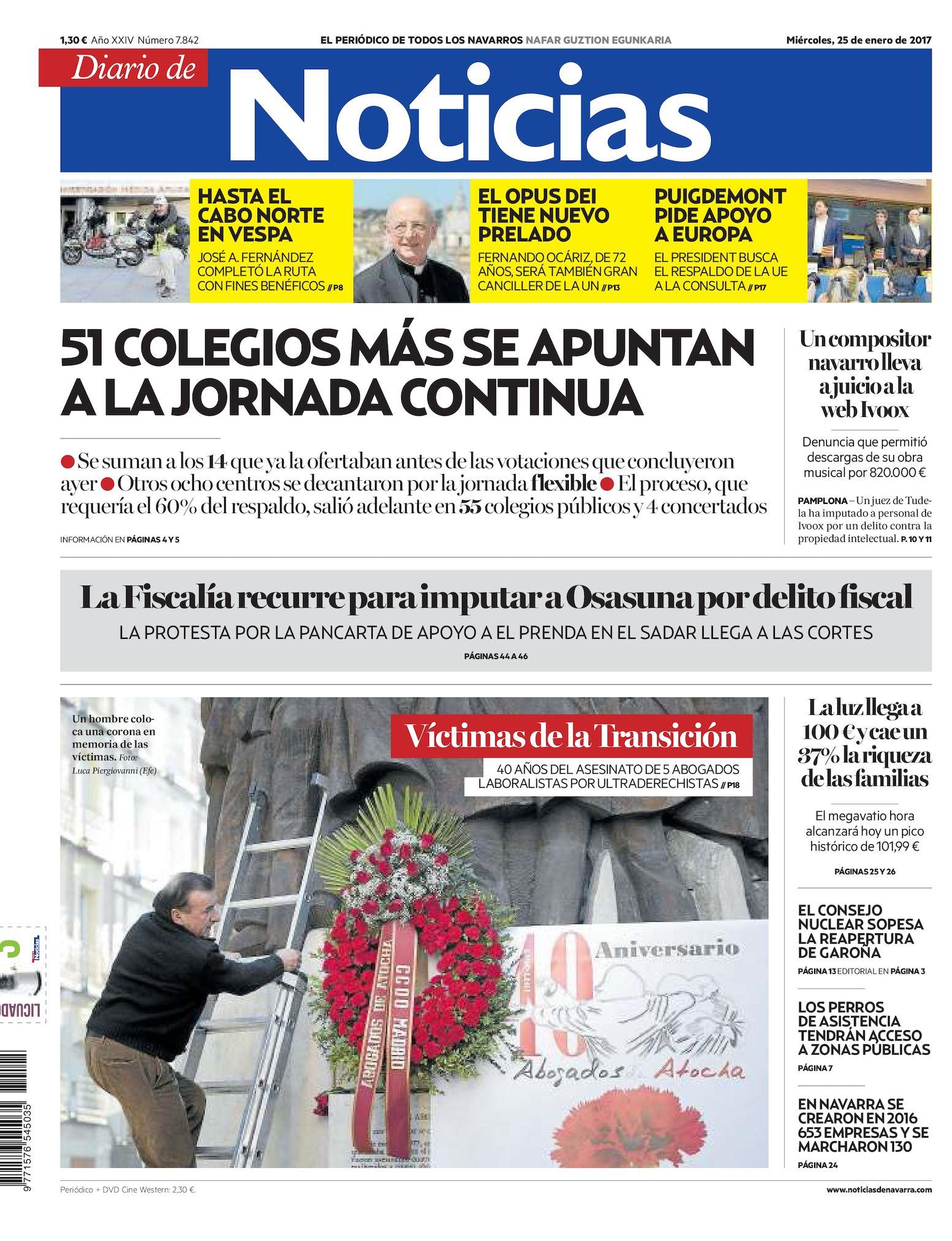 Calaméo - Diario de Noticias 20170125 6bbeec285e0d0