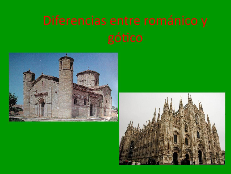 Calaméo Diferencias Entre Románico Y Gótico