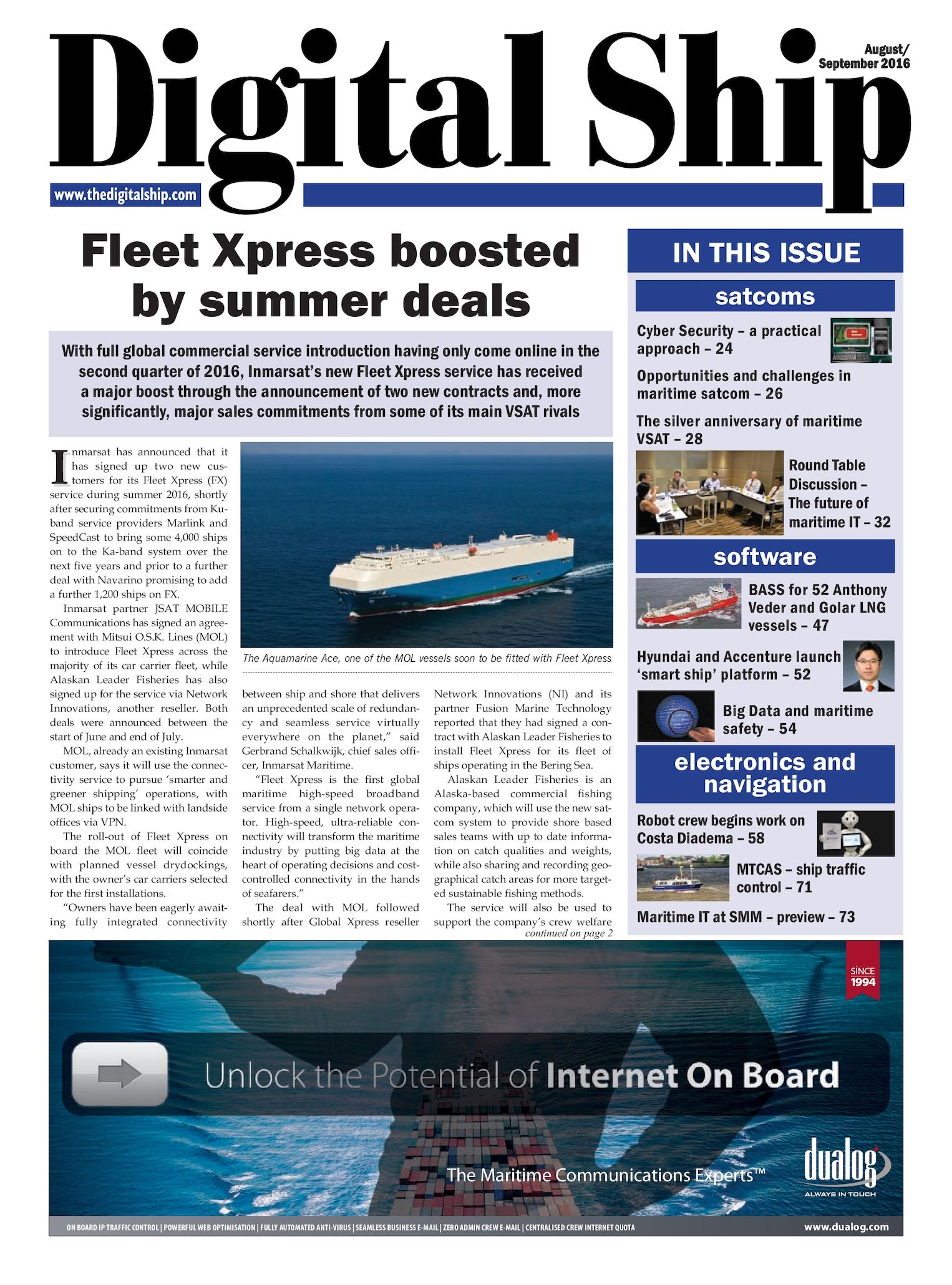 Calaméo - Digital Ship 117 August 2016