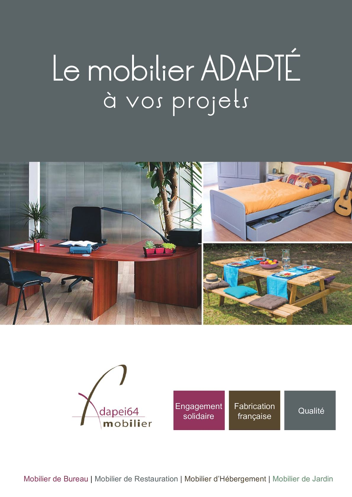 Calaméo - Catalogue 2016 - Adapei 64 Mobilier
