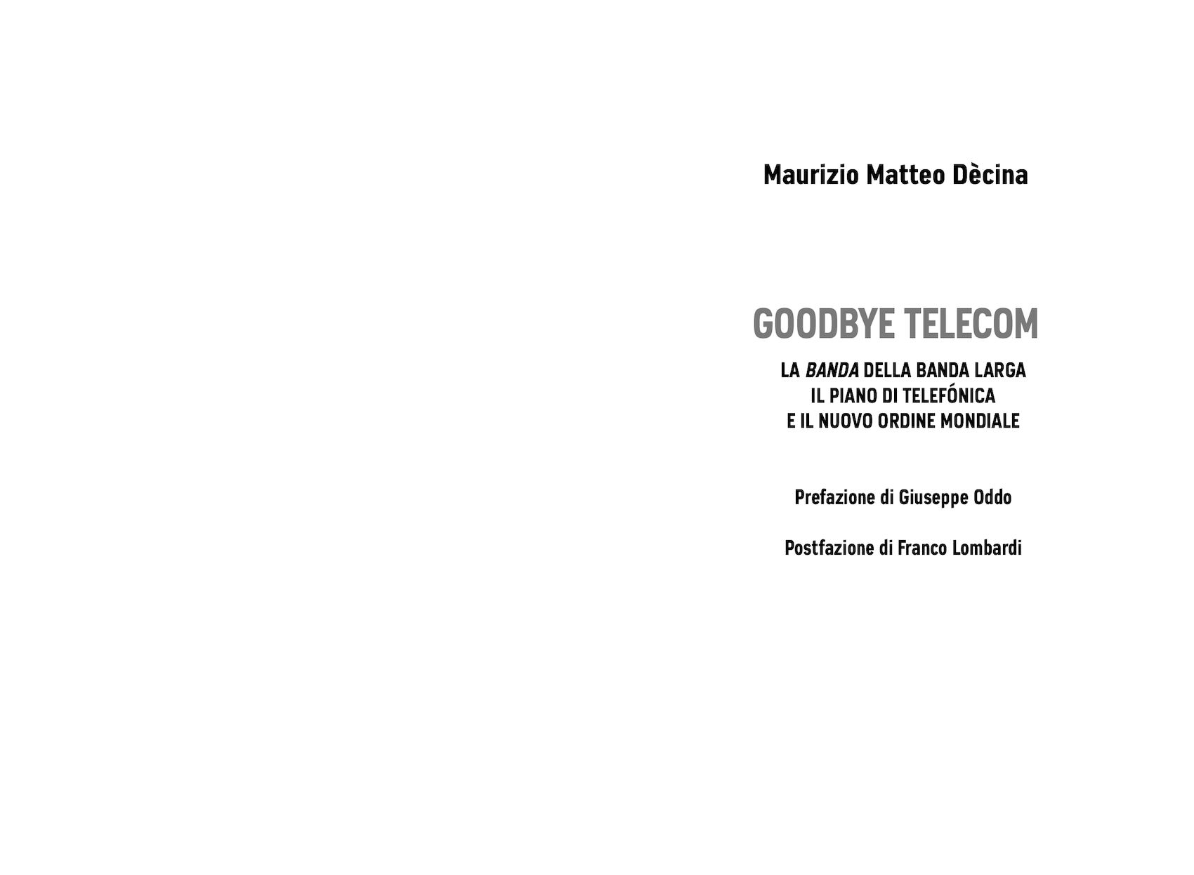 Calaméo Goodbye Telecom La Banda Della Banda Larga