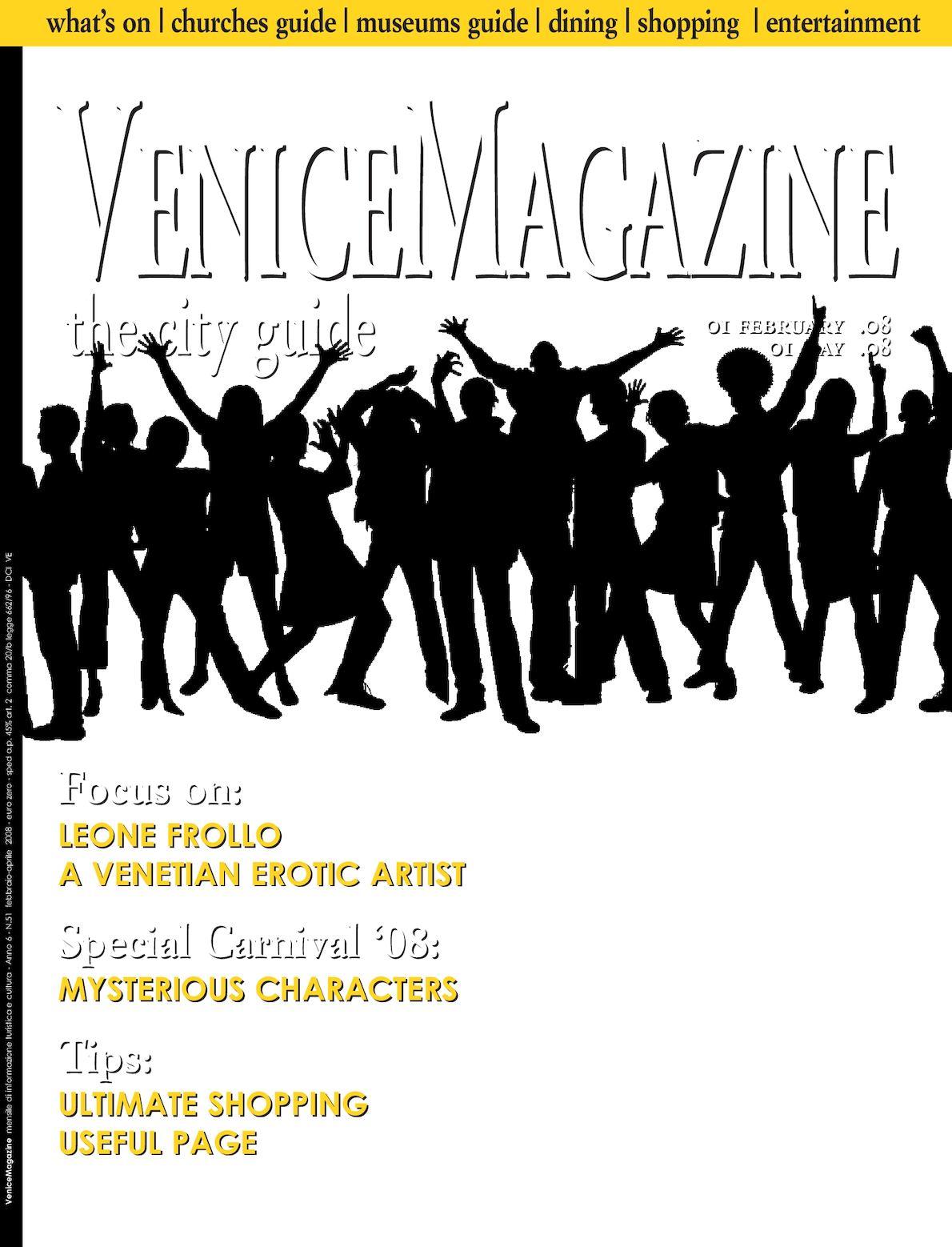 Vtp Calendario Navi.Calameo Venice Magazine 51