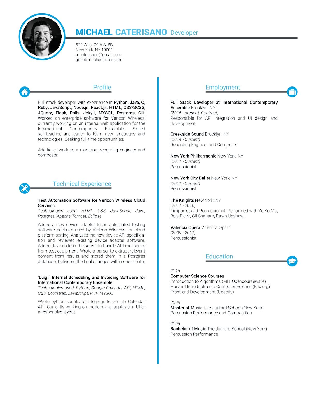 Calaméo - Caterisano Technical Resume
