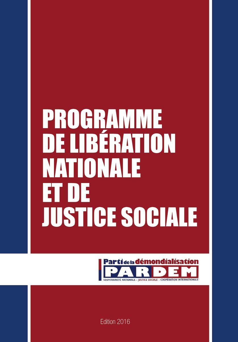 Calaméo Le Programme Du Parti De La Démondialisation
