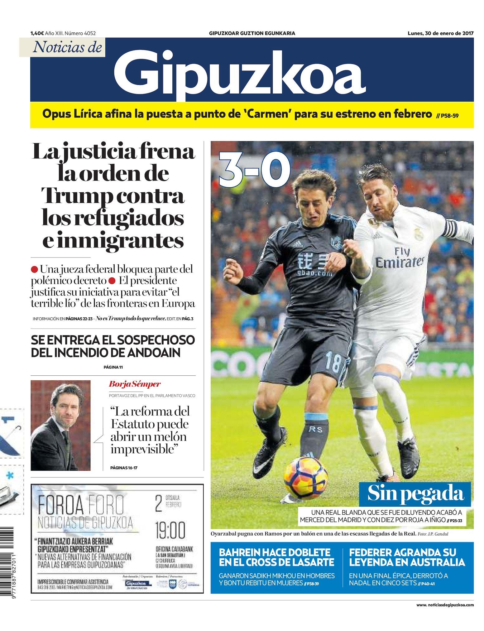 Noticias 20170130 Noticias De Gipuzkoa De Calaméo Calaméo CsQBhrxotd