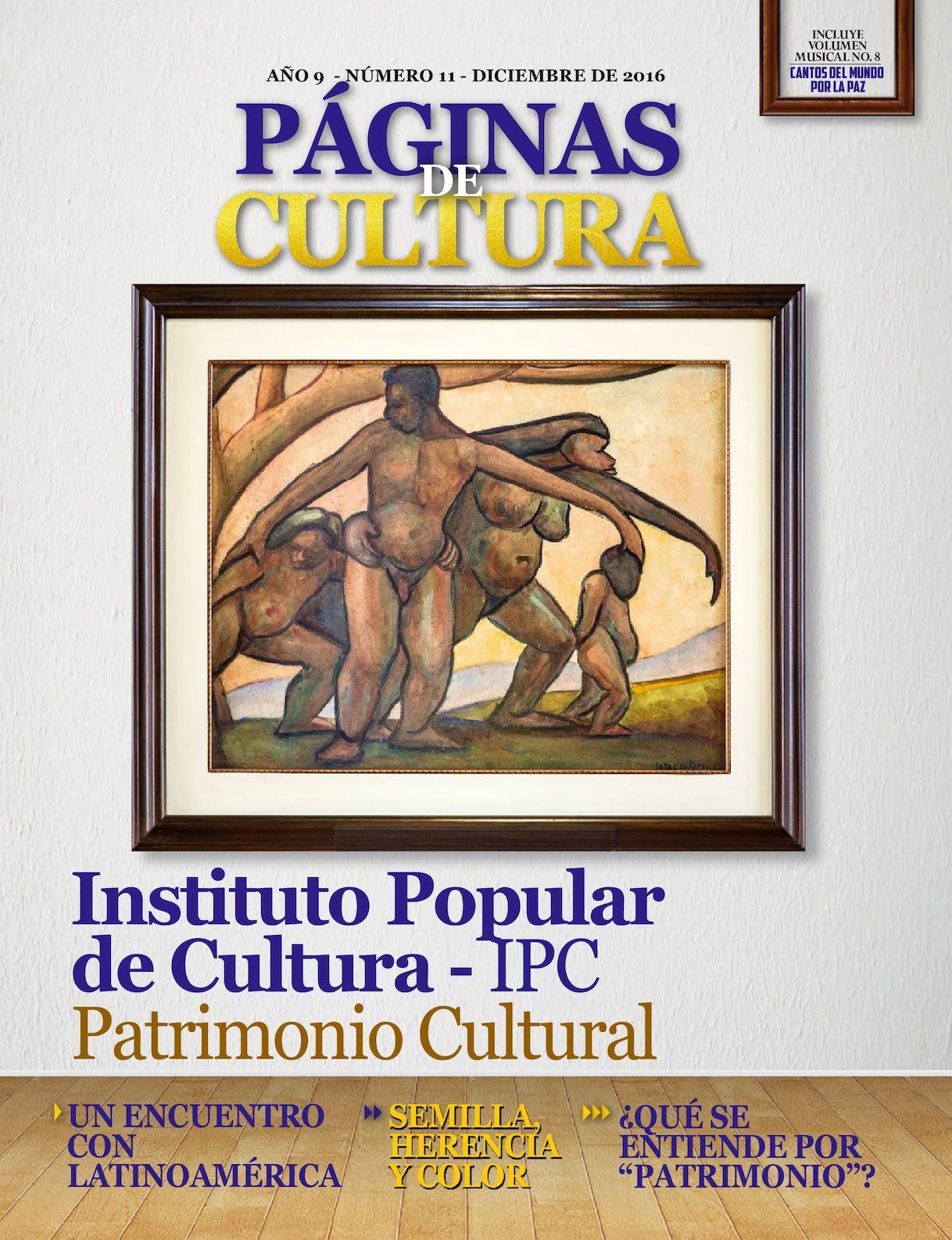 744b7e3e91f Calaméo - Revista Paginas De Cultura IPC Edición N° 11