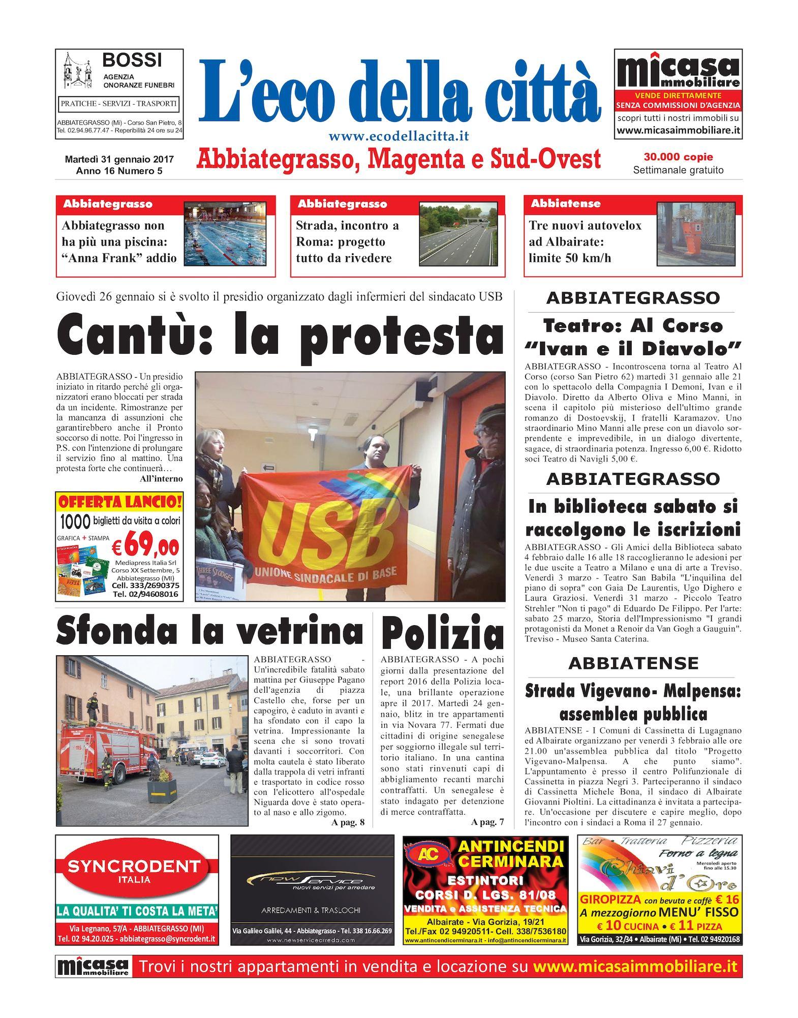 Calaméo L'eco della città del 31 gennaio 2017