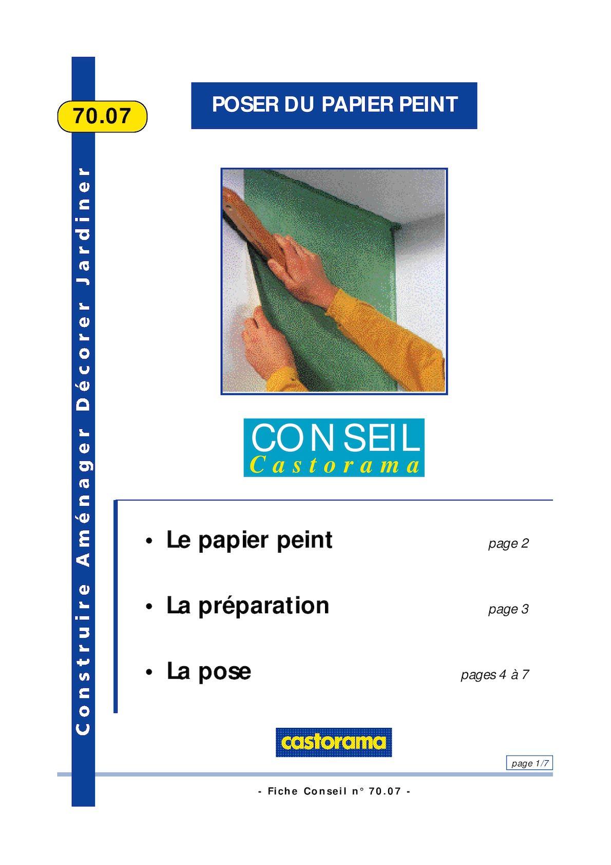 Spatule Décoller Papier Peint calaméo - poser du papier peint