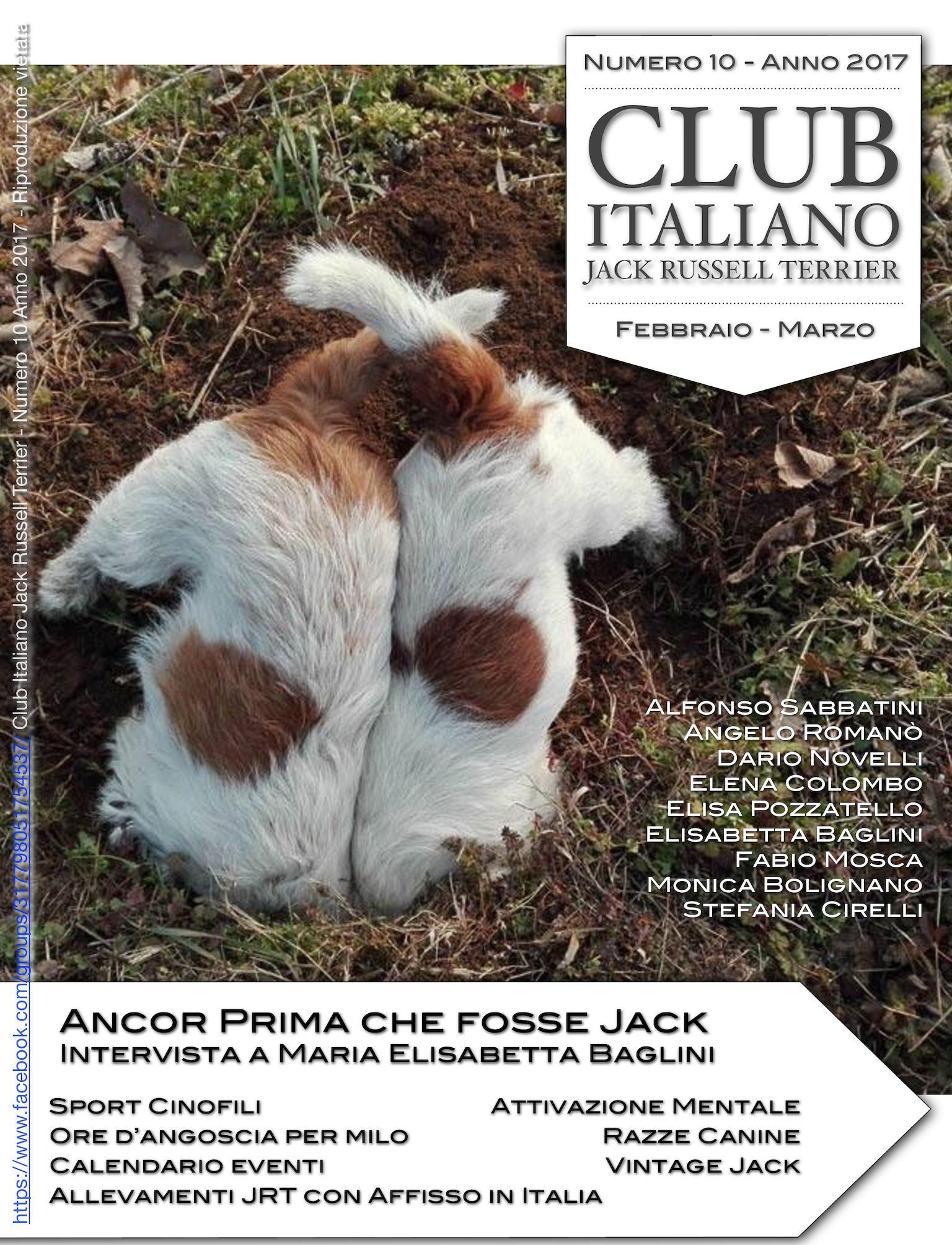 Expocani Calendario.Calameo Club Italiano Jack Russell Terrier N 10 2017