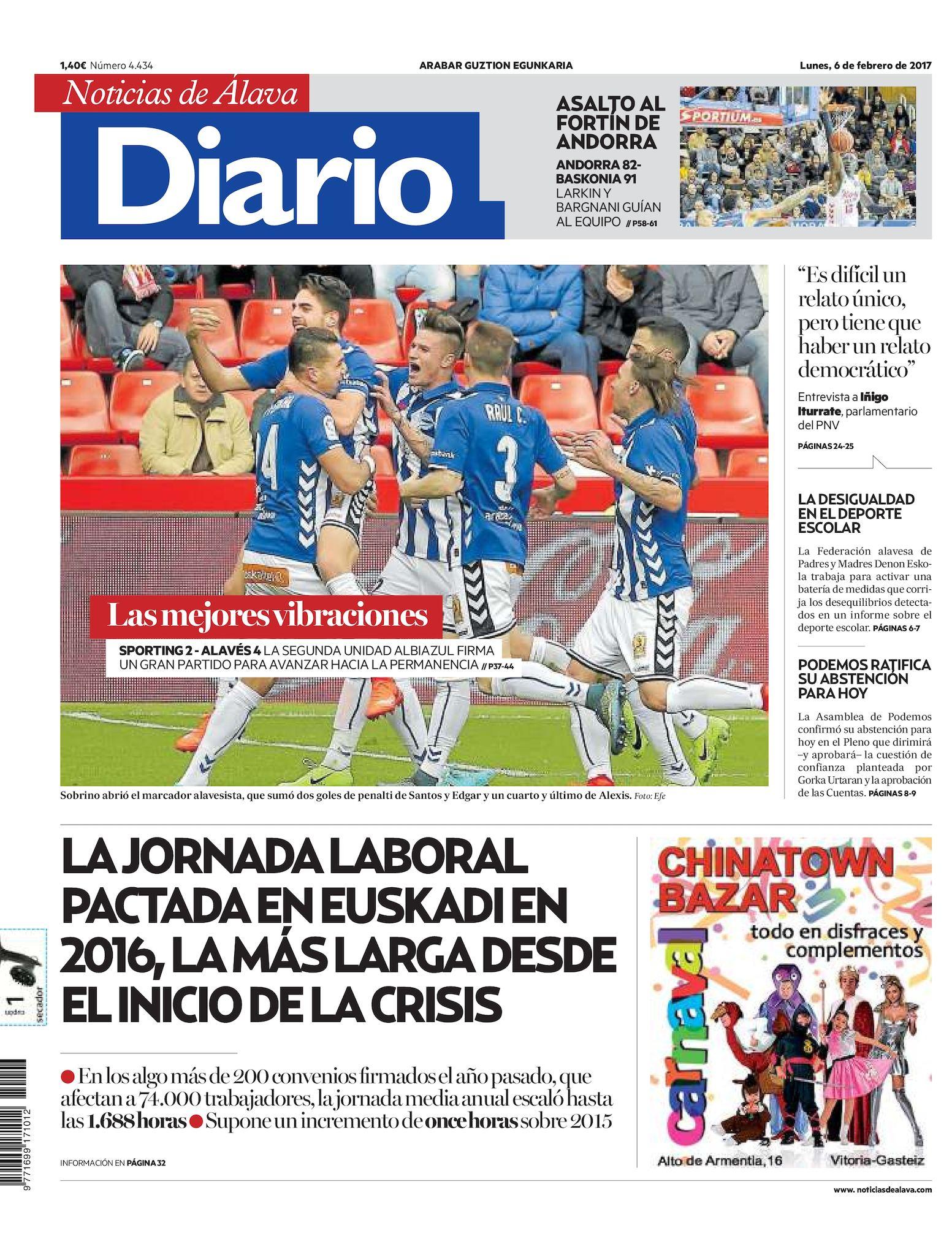 sports shoes 358b3 8aeef Calaméo - Diario de Noticias de Álava 20170206