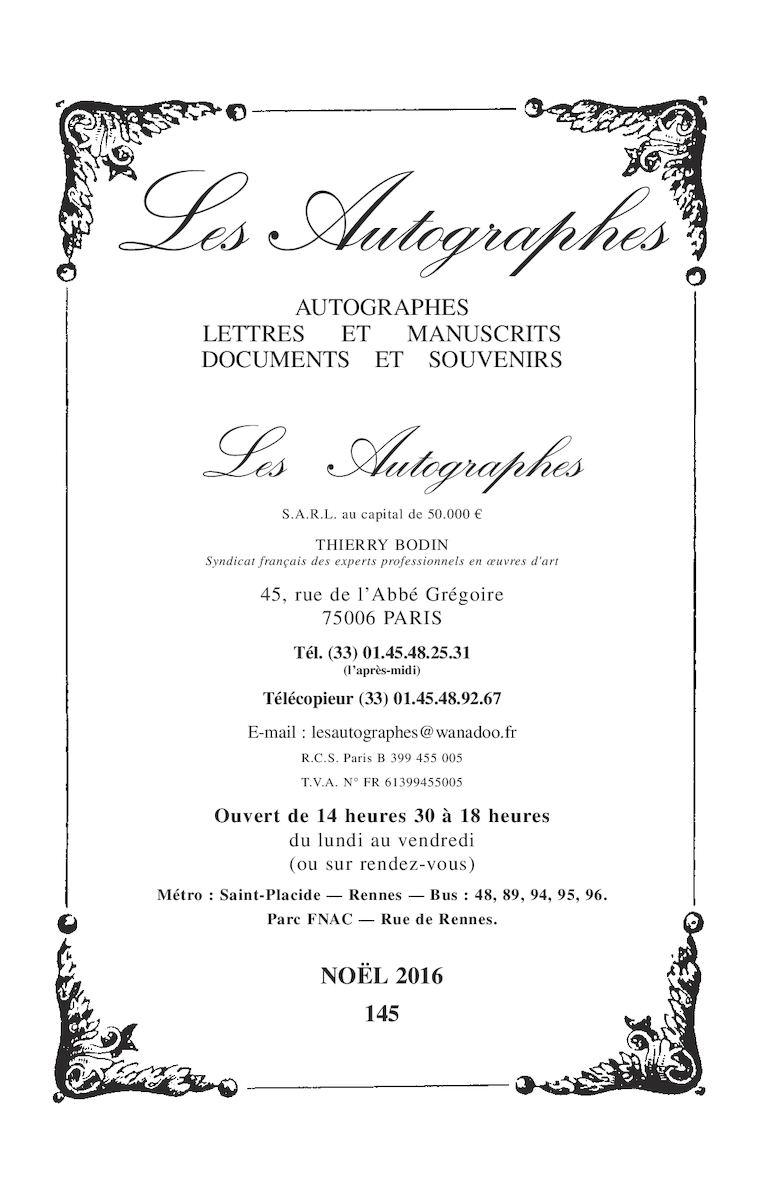 Du Pareil Au Meme Gisors calaméo - les autographes - catalogue