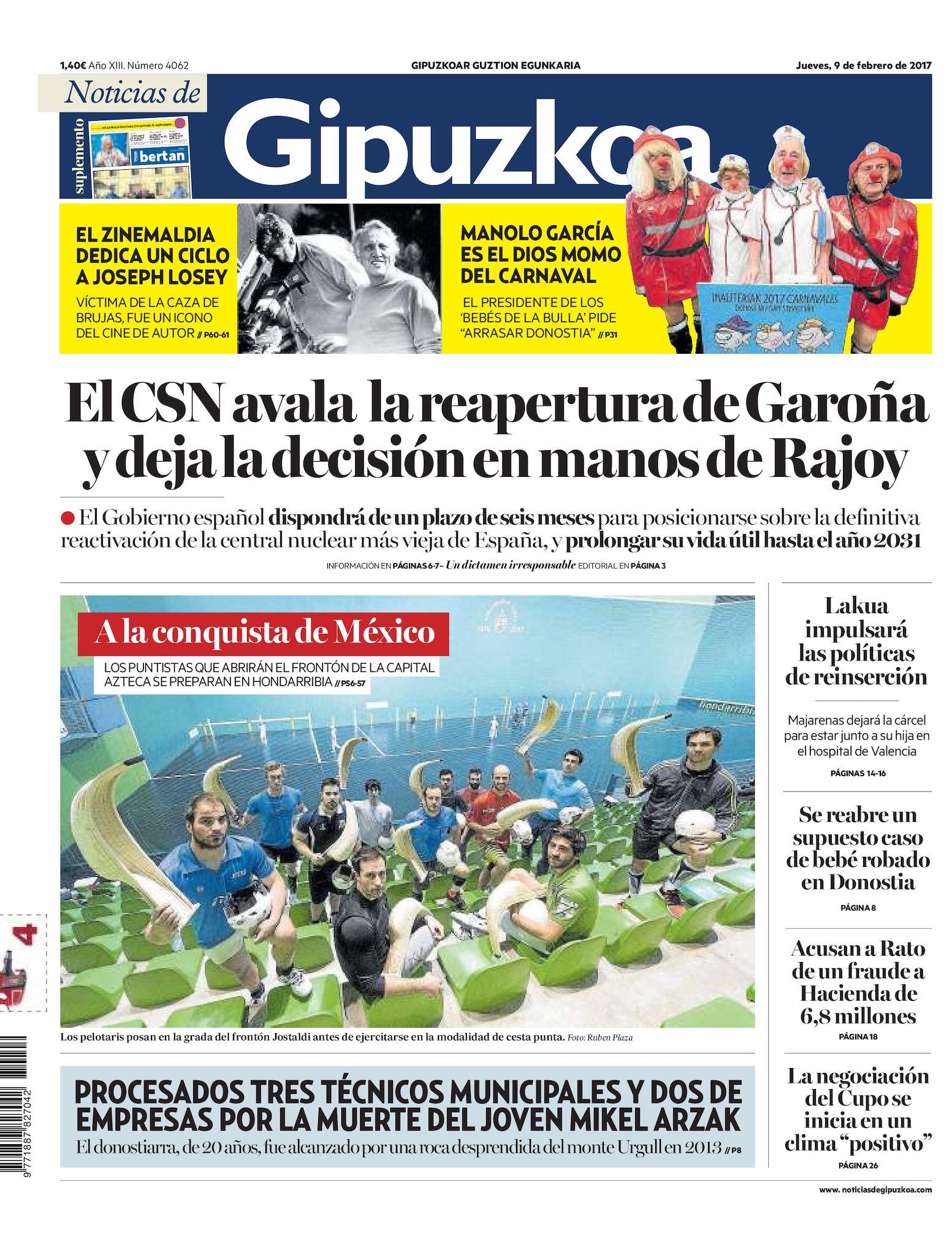 d8e977c76f8f9 Calaméo - Noticias de Gipuzkoa 20170209