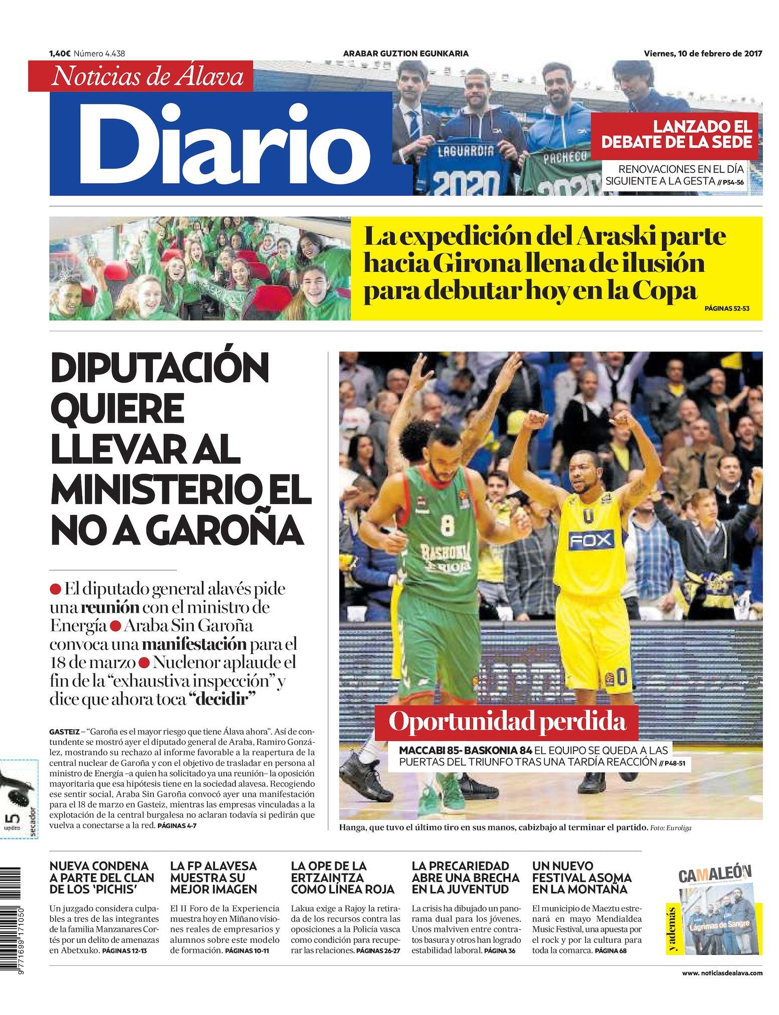 wholesale dealer fbbd7 a84e1 Calaméo - Diario de Noticias de Álava 20170210