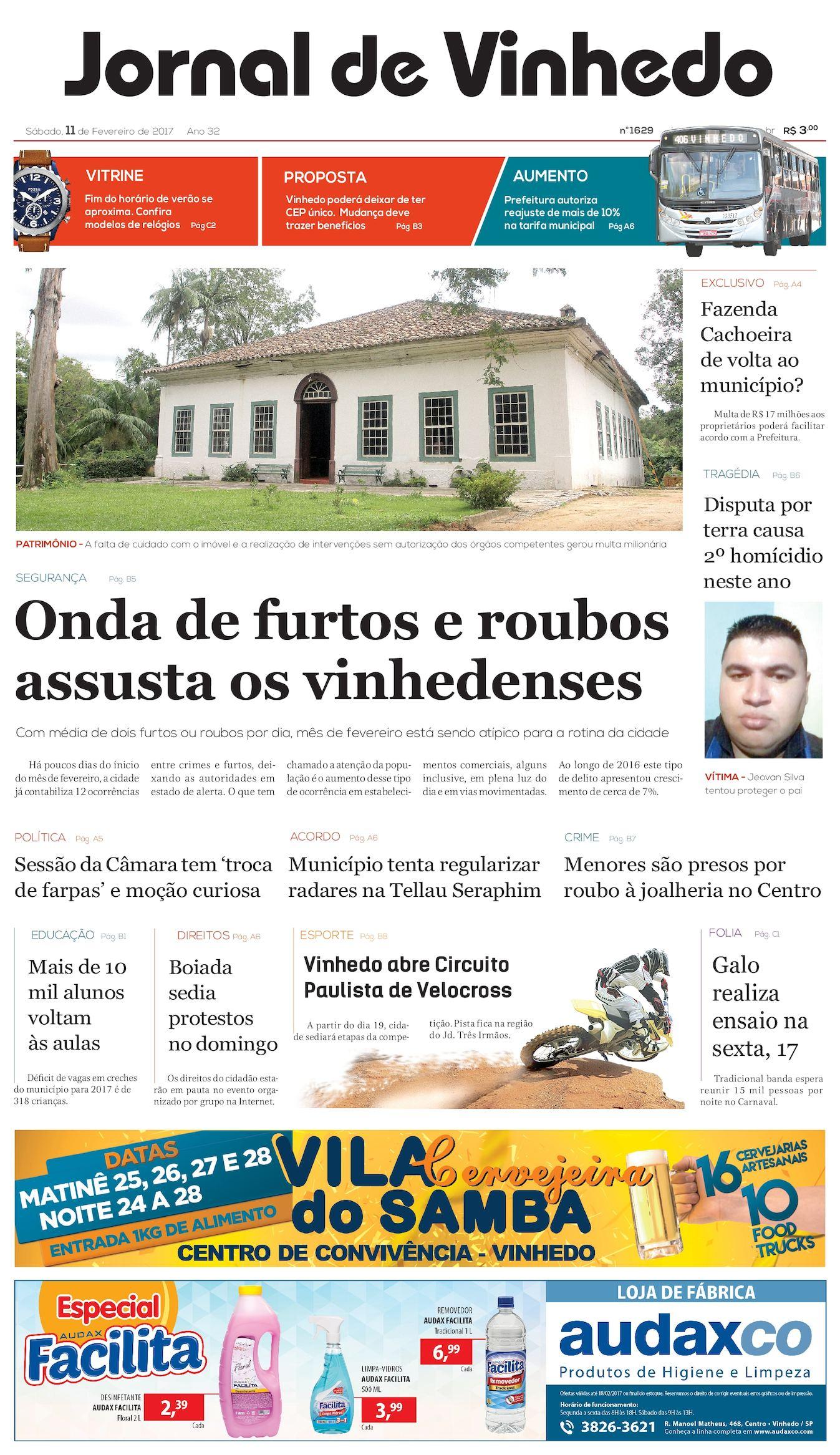 51738af4d Calaméo - Jornal De Vinhedo Sabado 11 De Fevereiro De 2017 Edic 1629