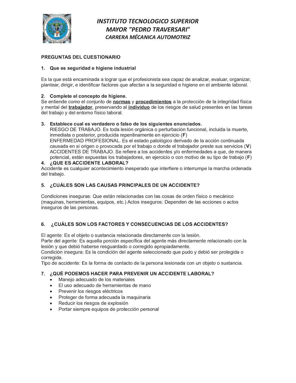 3e080289cbba2 Calaméo - Preguntas Cuestionario De Seguridad