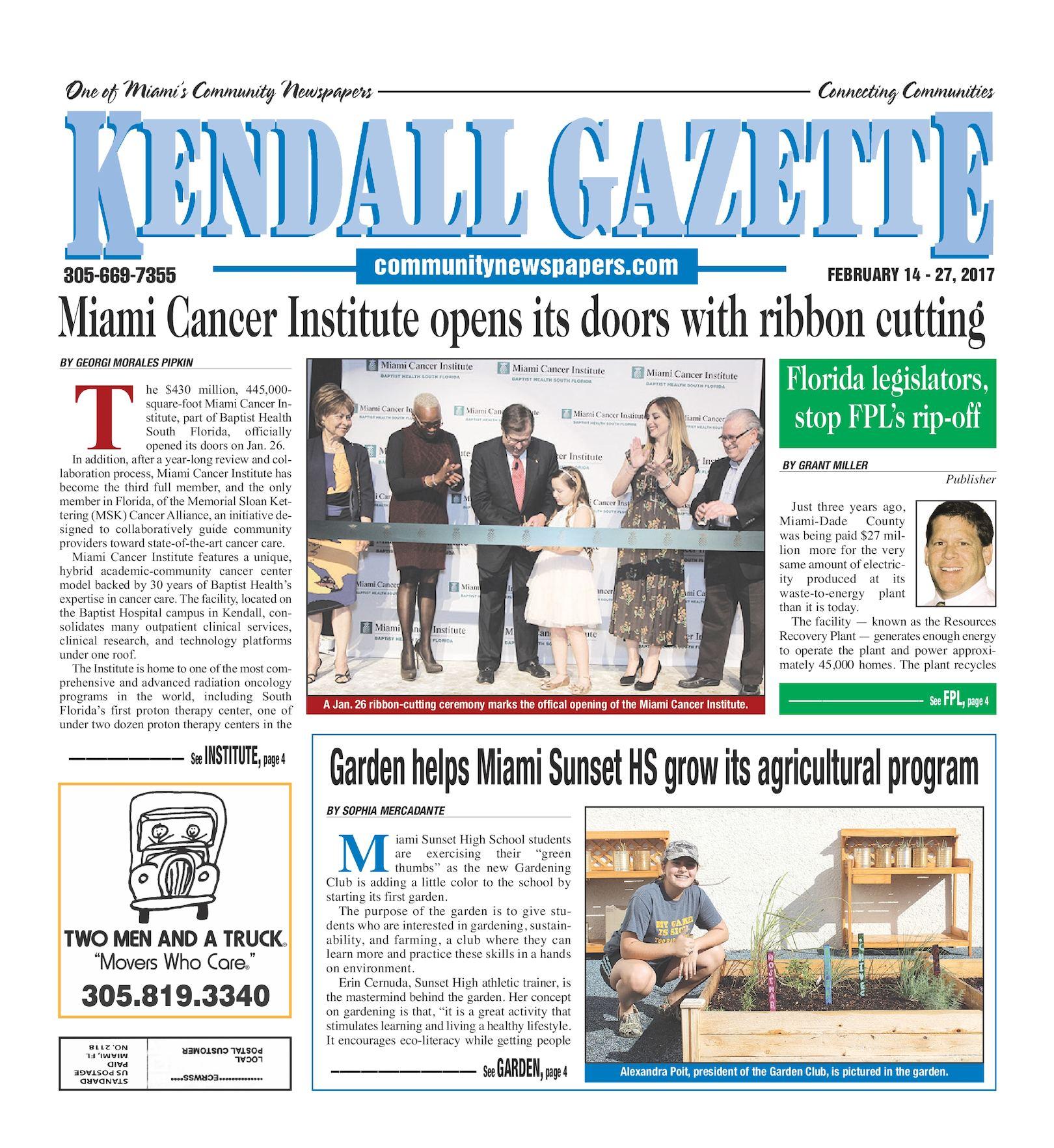 Calaméo - Kendall Gazette 02 14 2017