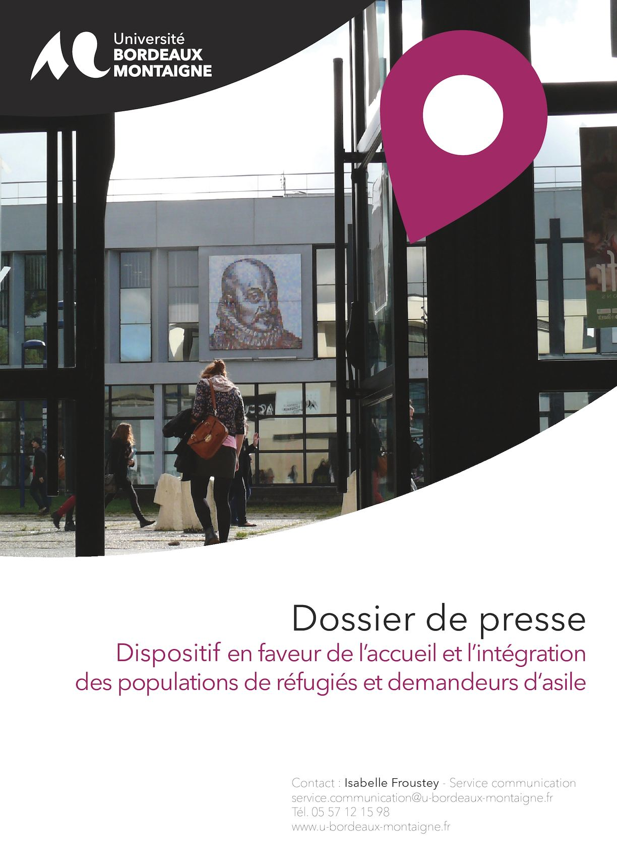 Calendrier Examens Bordeaux Montaigne.Calameo Dossier De Presse Accueil Des Refugies A L