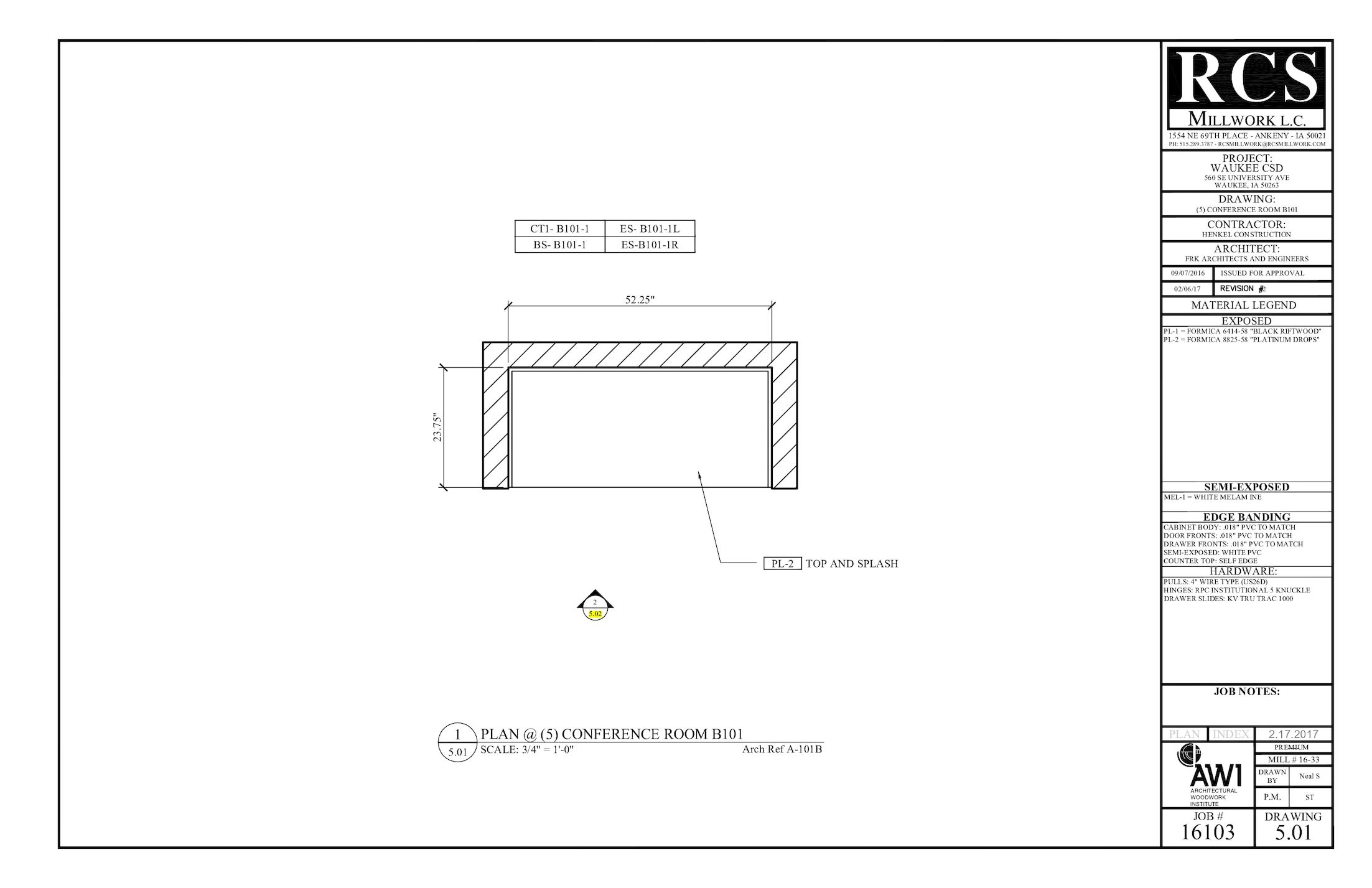 Calamo Shop Drawings 16103b 956 Wiring Diagram For Slide Room