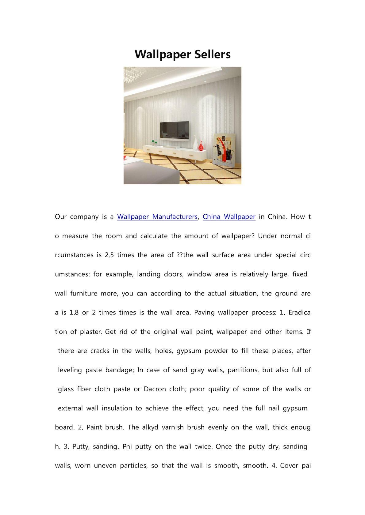 Calameo Wallpaper Sellers
