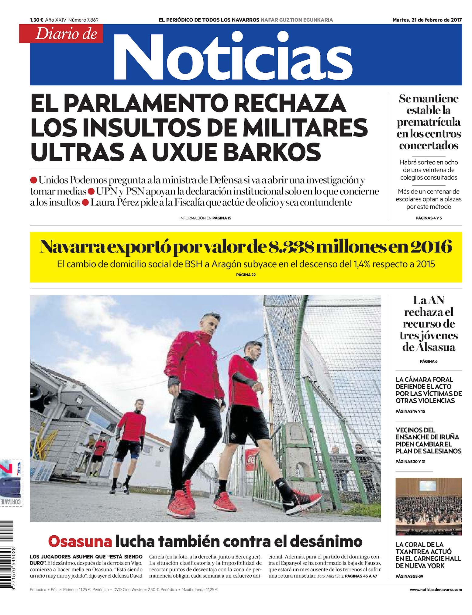 De De Diario Diario Noticias 20170221 Calaméo Calaméo 0P8Onwk