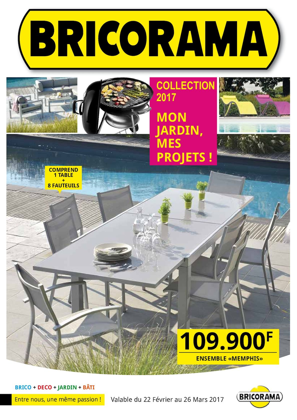 calam o catalogue mon jardin mes projets bricorama. Black Bedroom Furniture Sets. Home Design Ideas