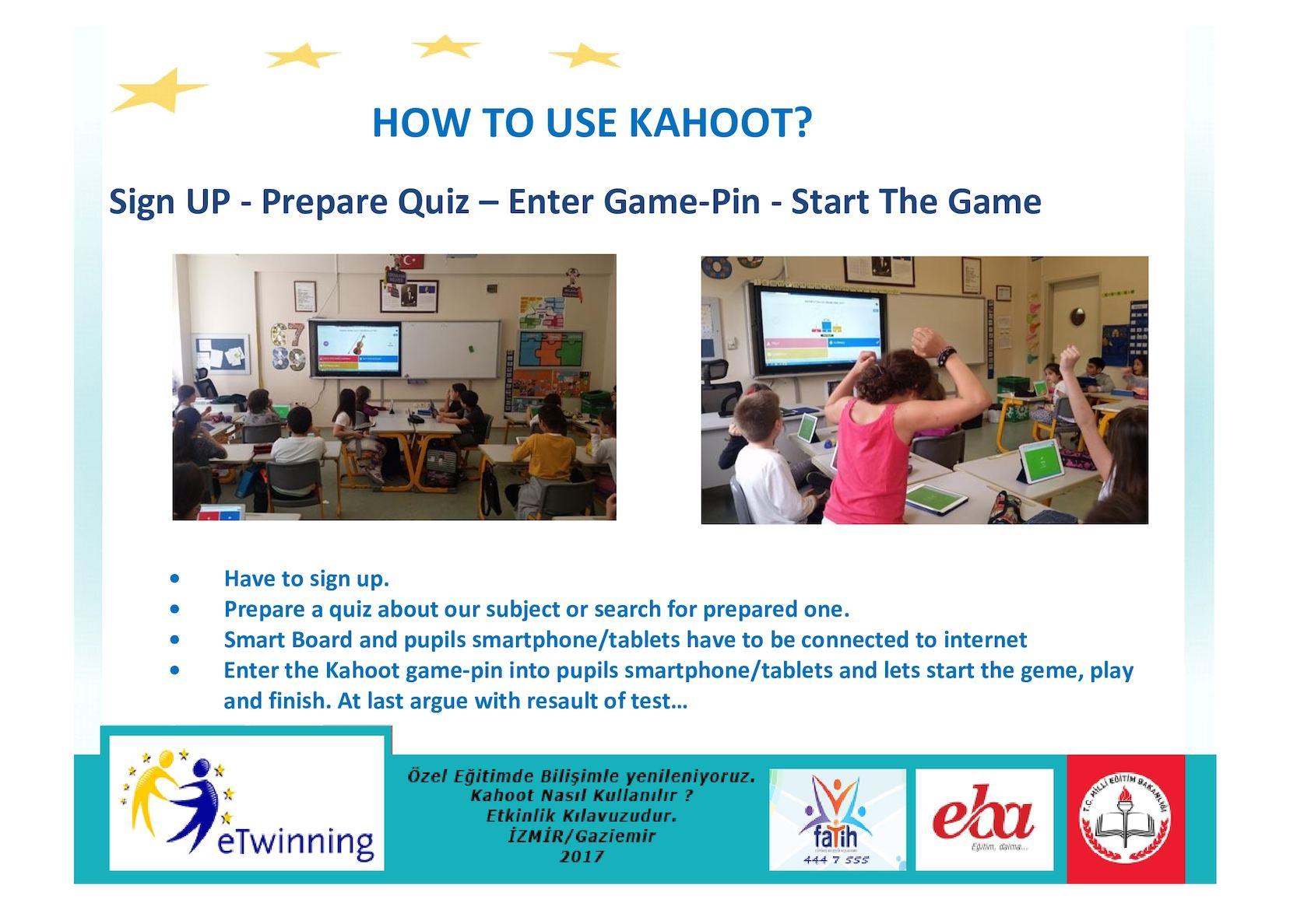Calaméo - How To Use Kahoot Guide