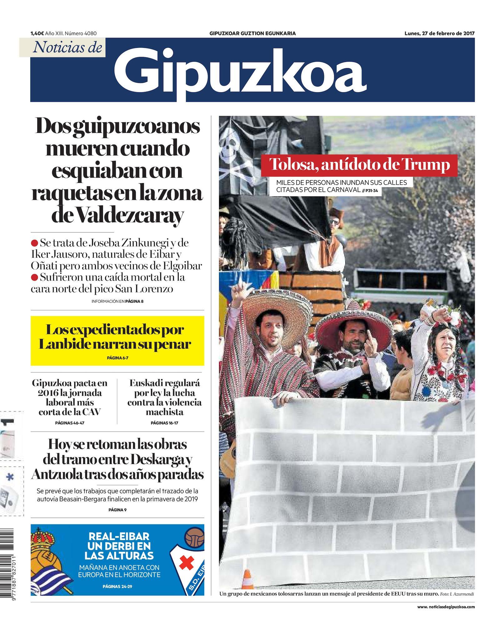 2b1885a44 Calaméo - Noticias de Gipuzkoa 20170227