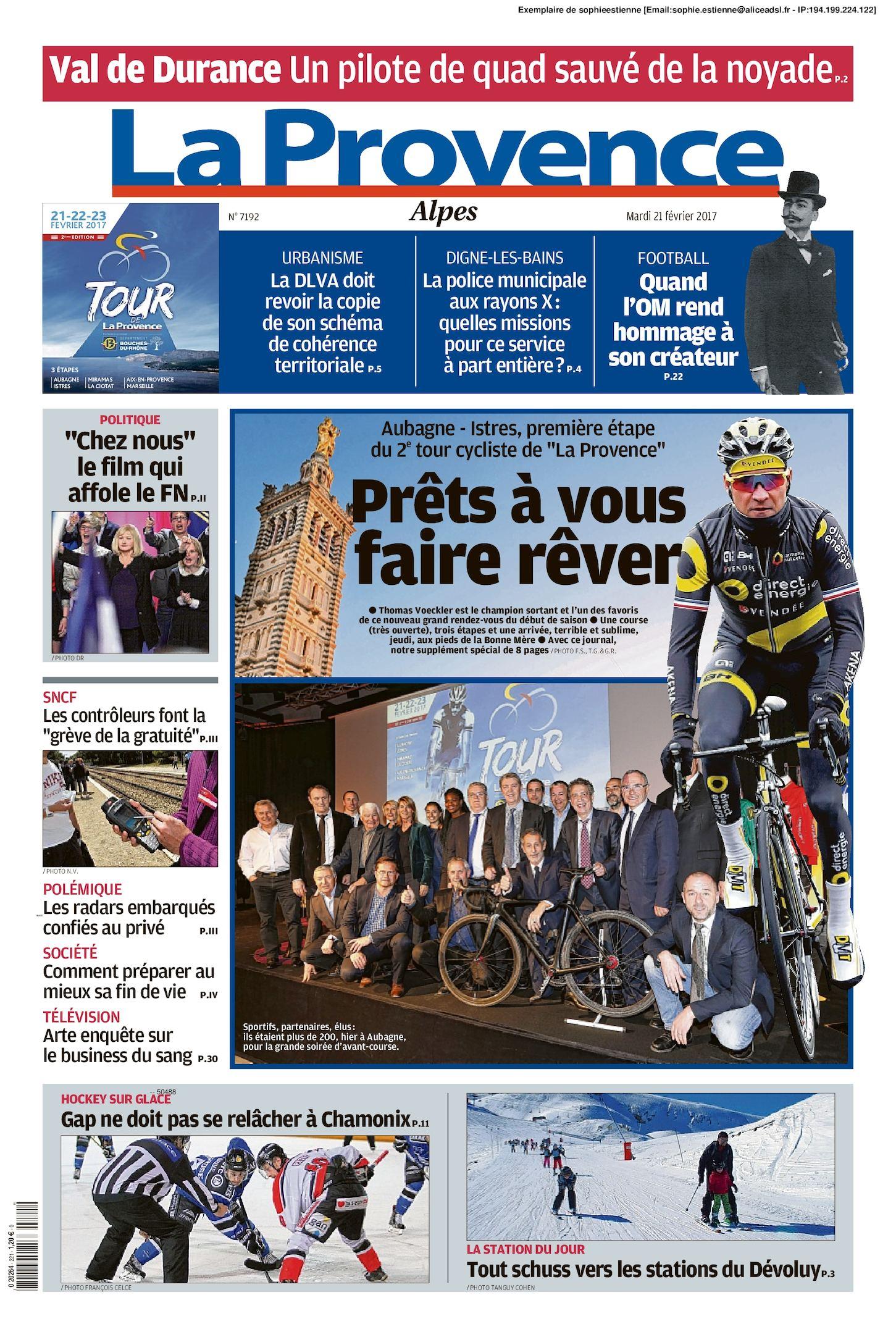 Calaméo - La Provence Edition Alpes Du 2017 02 21 519d2798cc2