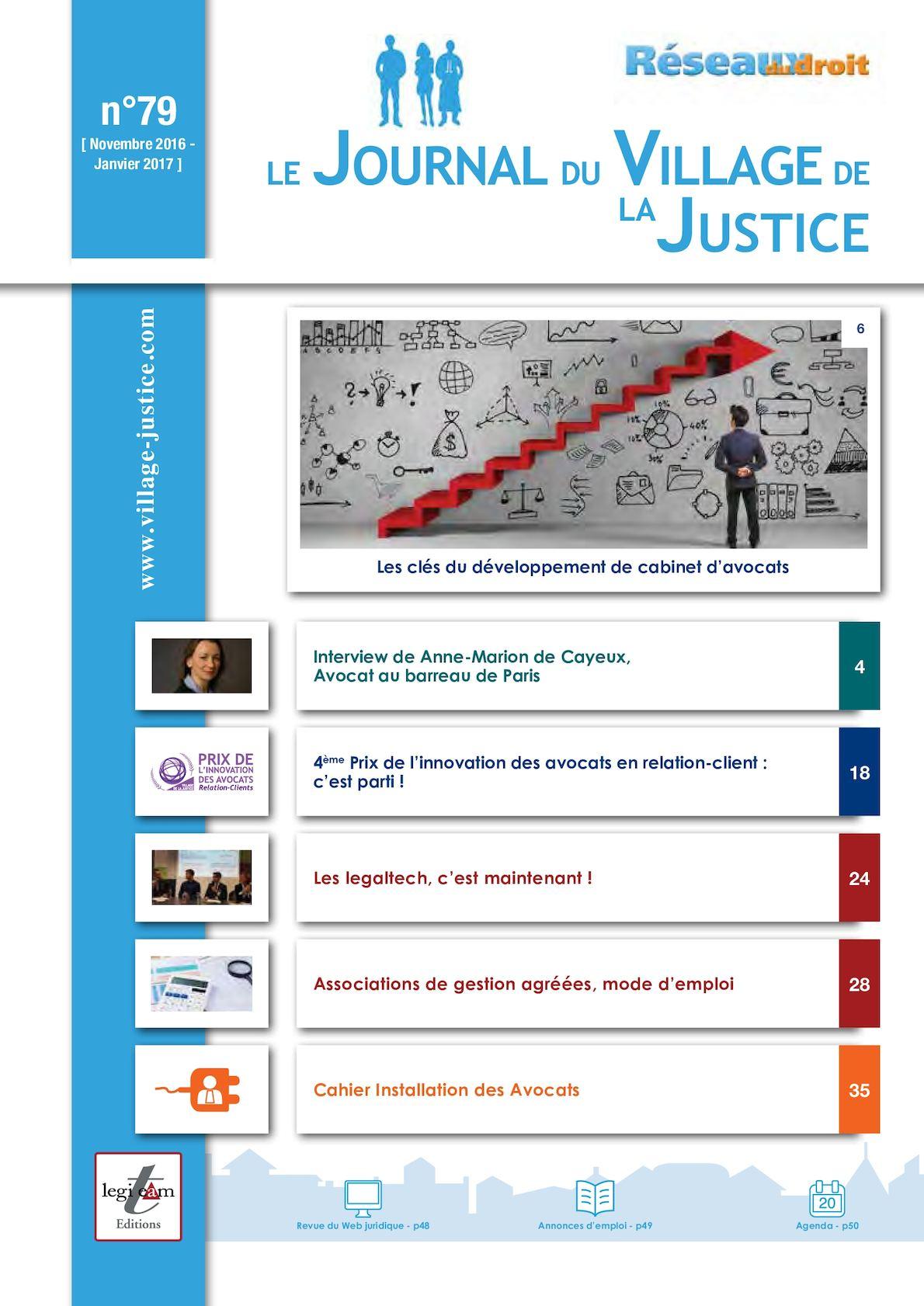 0c81c87bcb7 Calaméo - Journal du Village de la Justice n79