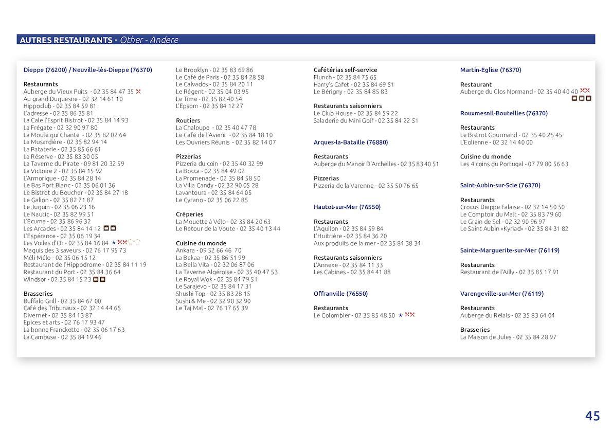 Guide Hébergements Et Restauration 2017 Calameo Downloader