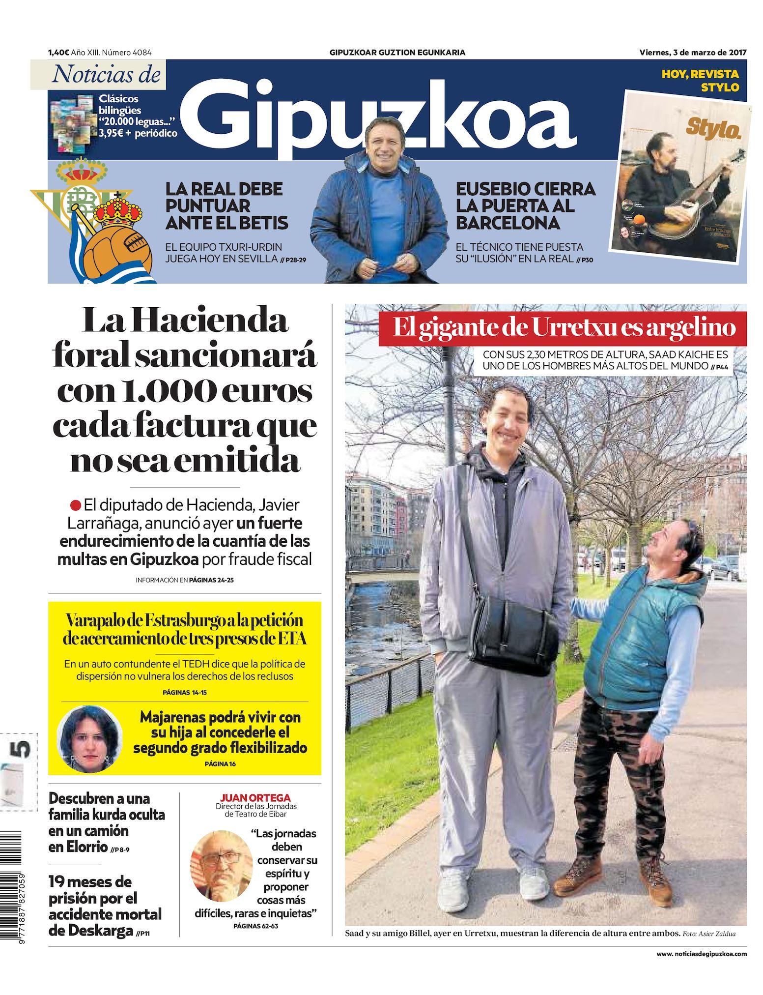 448f24602 Calaméo - Noticias de Gipuzkoa 20170303