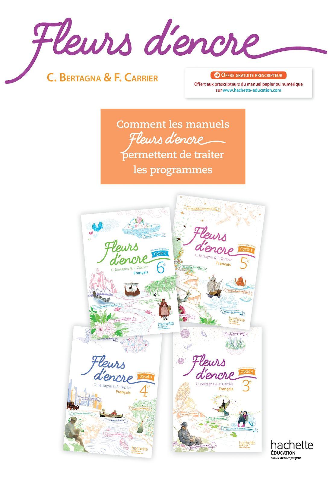 Calameo Complement Pedagogique Fleurs D Encre