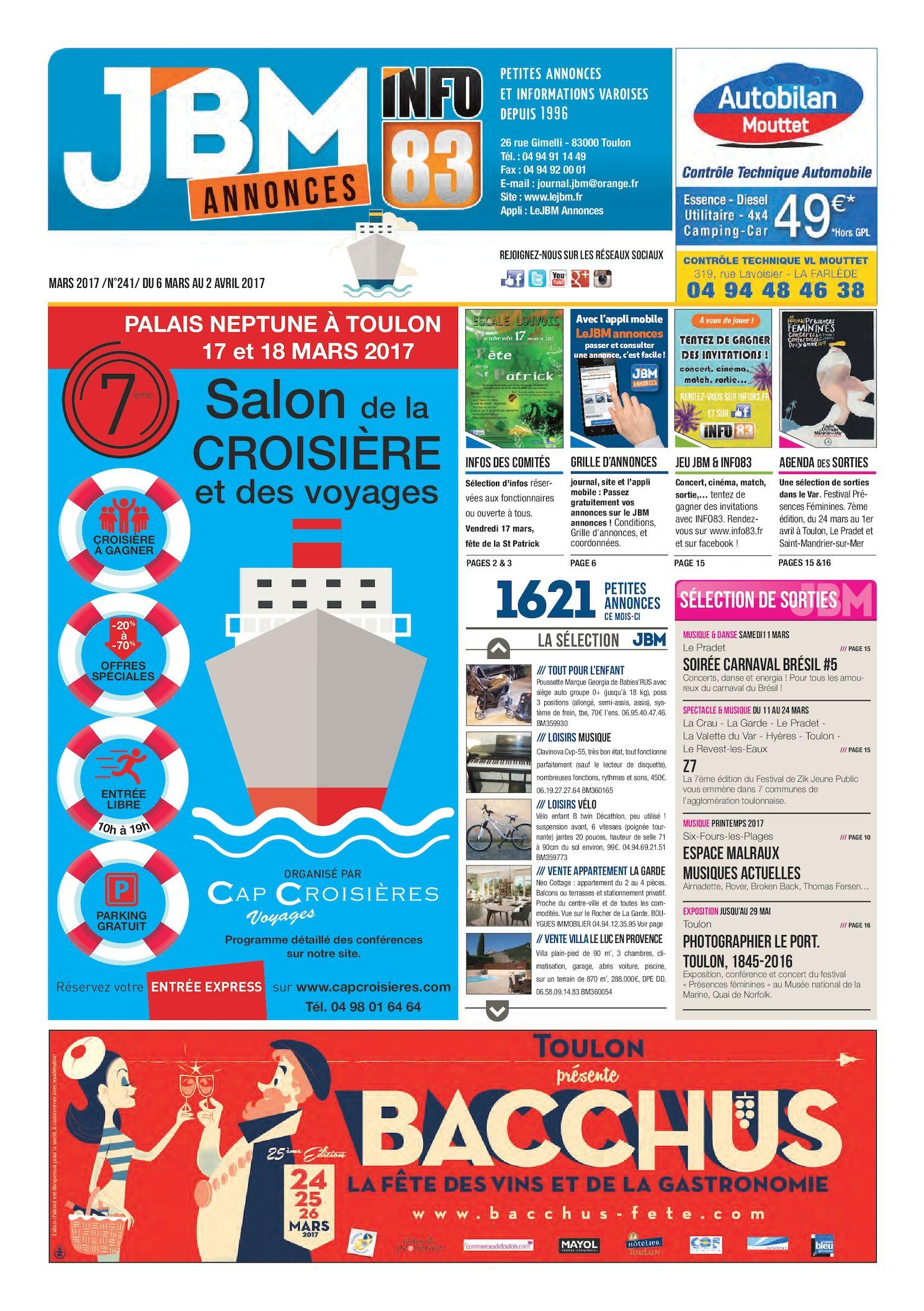 uk availability 1dfb6 7b75f Calaméo - Journal JBM Annonces n°241 Mars 2017