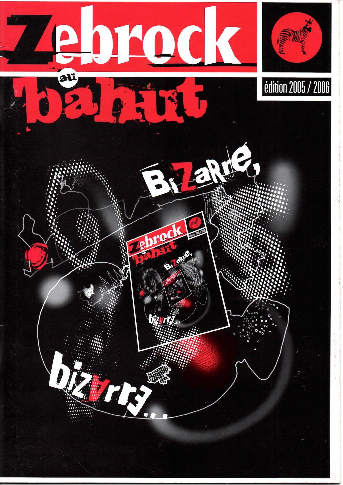 Bizarre Livret 2006 Zebrock Bahut Calaméo 2005 Au n0OymvN8w