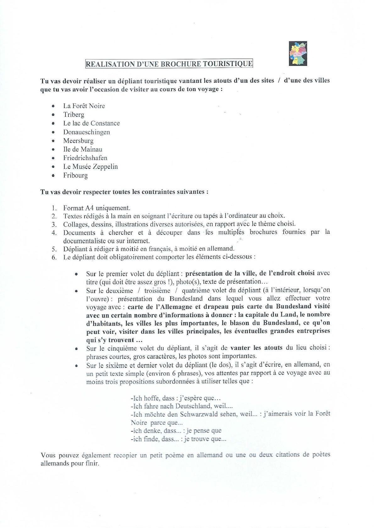 Calaméo Brochures Touristiques Voyage En Forêt Noire 2002