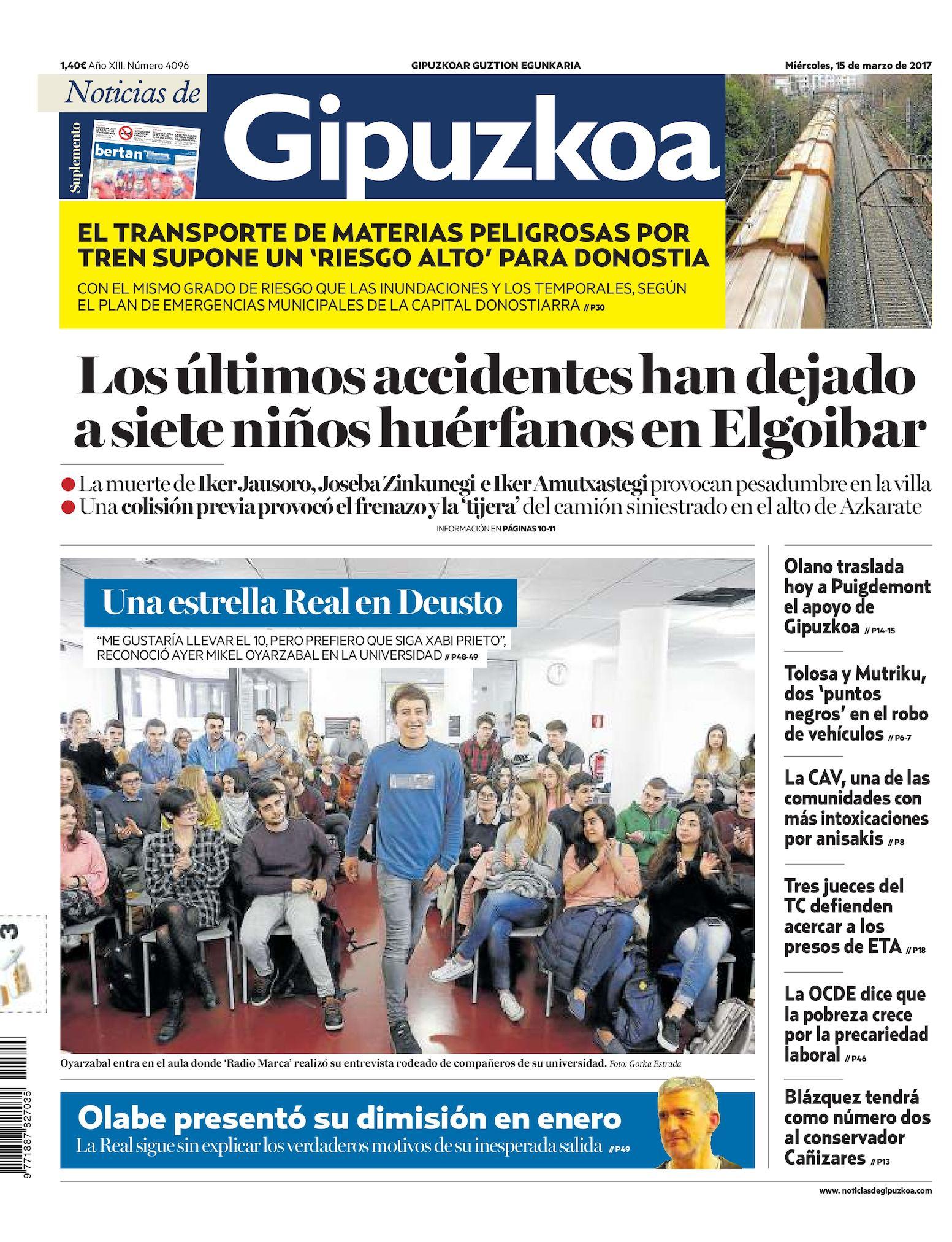 21700205f1a4 Calaméo - Noticias de Gipuzkoa 20170315