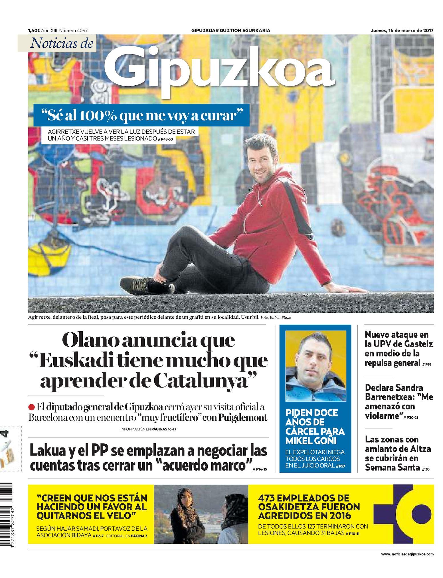 b40540678e Calaméo - Noticias de Gipuzkoa 20170316
