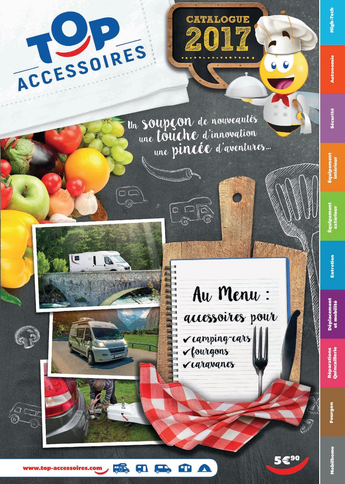 crazy price get new cozy fresh Calaméo - Catalogue Top Accessoires 2017