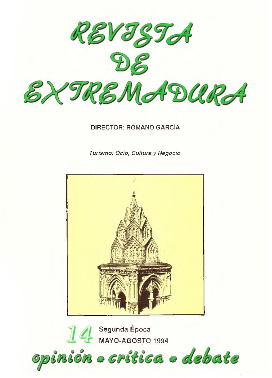 7e94595a20d41 Calaméo - Revista de Extremadura nº 14 sobre Turismo por Romano García