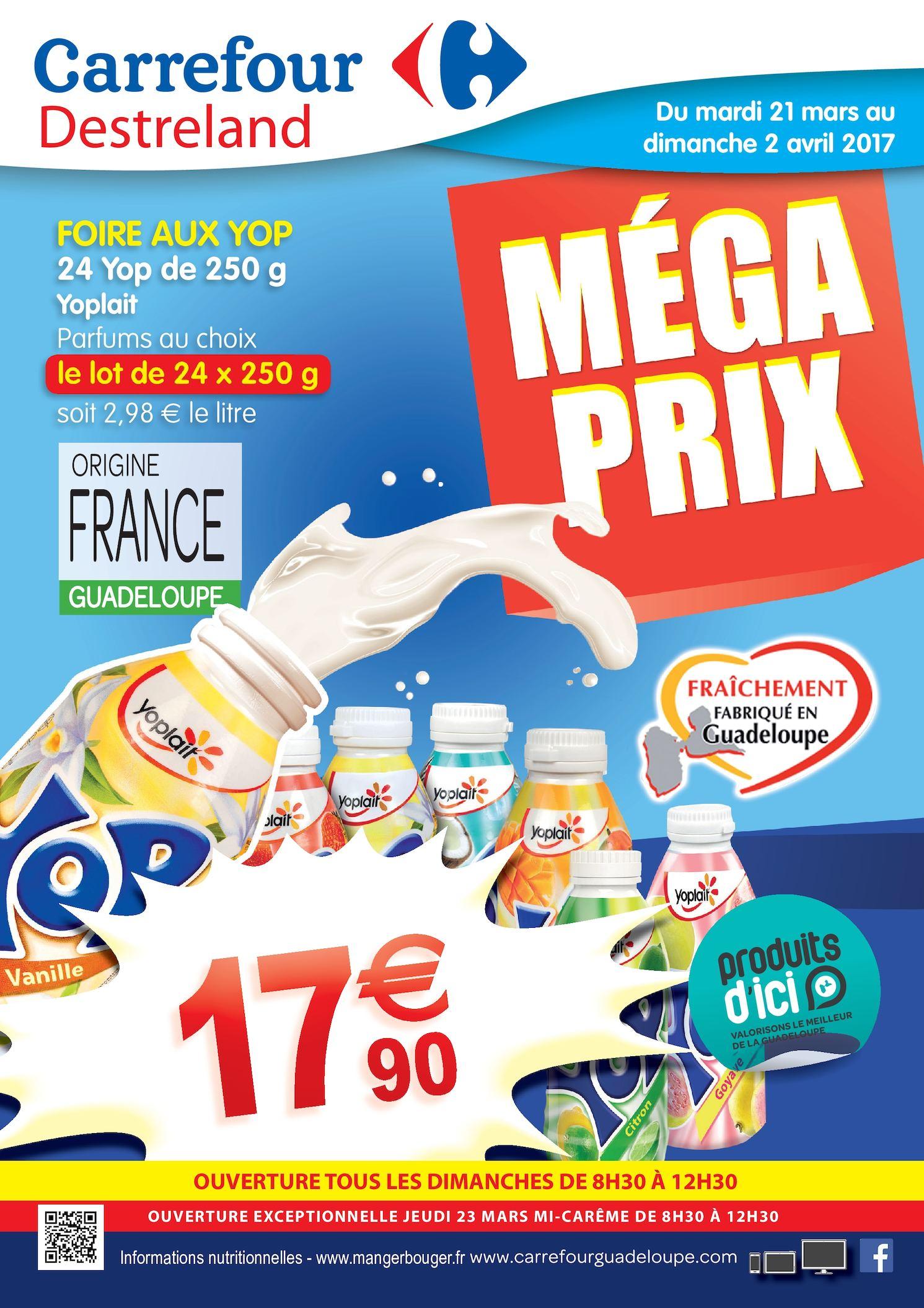 Calaméo Carrefour Destreland Megaprix Mars2017