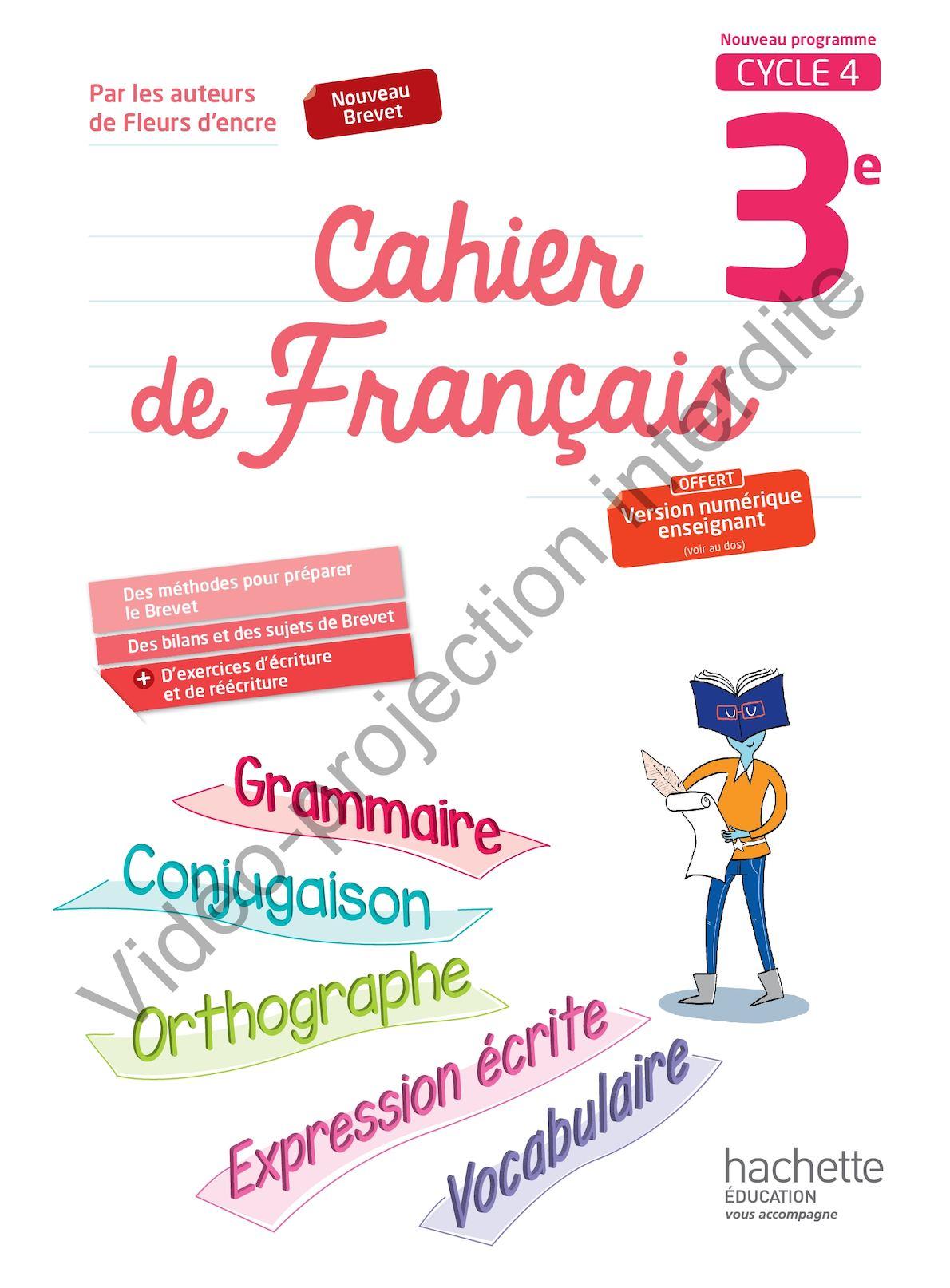 Calameo Cahier De Francais 3e 2017