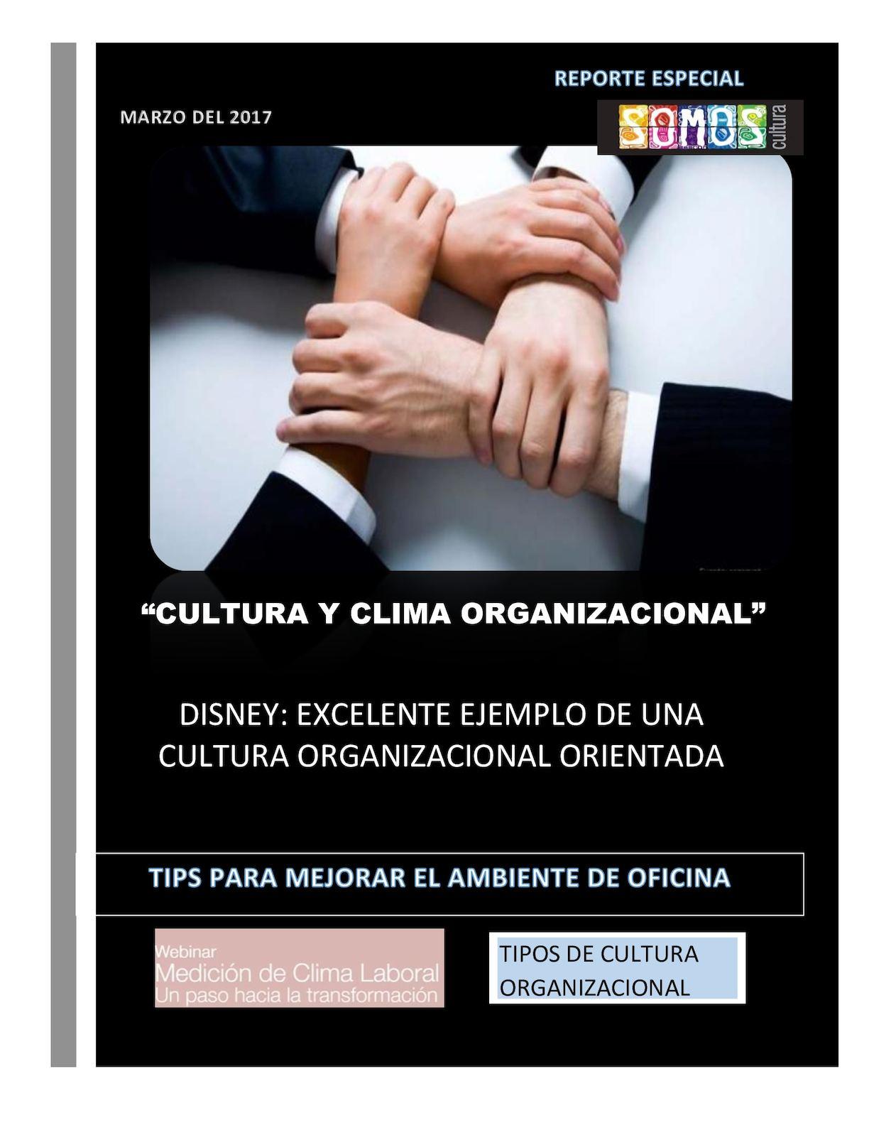 Calaméo Cultura Y Clima Organizacional Q