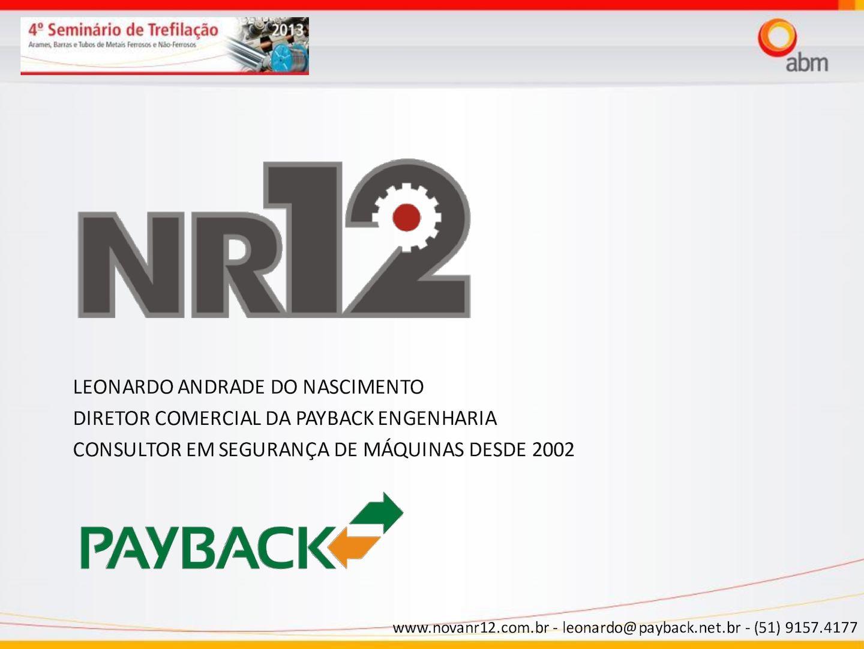 Palestra NR12 Trefilacao 2013 Leonardo Nascimento