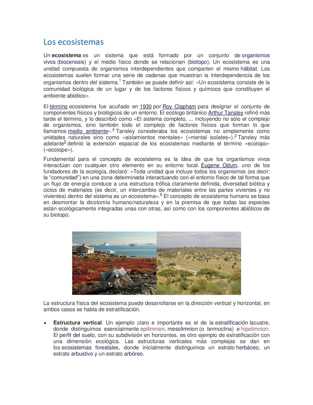 Calaméo Los Ecosistemas