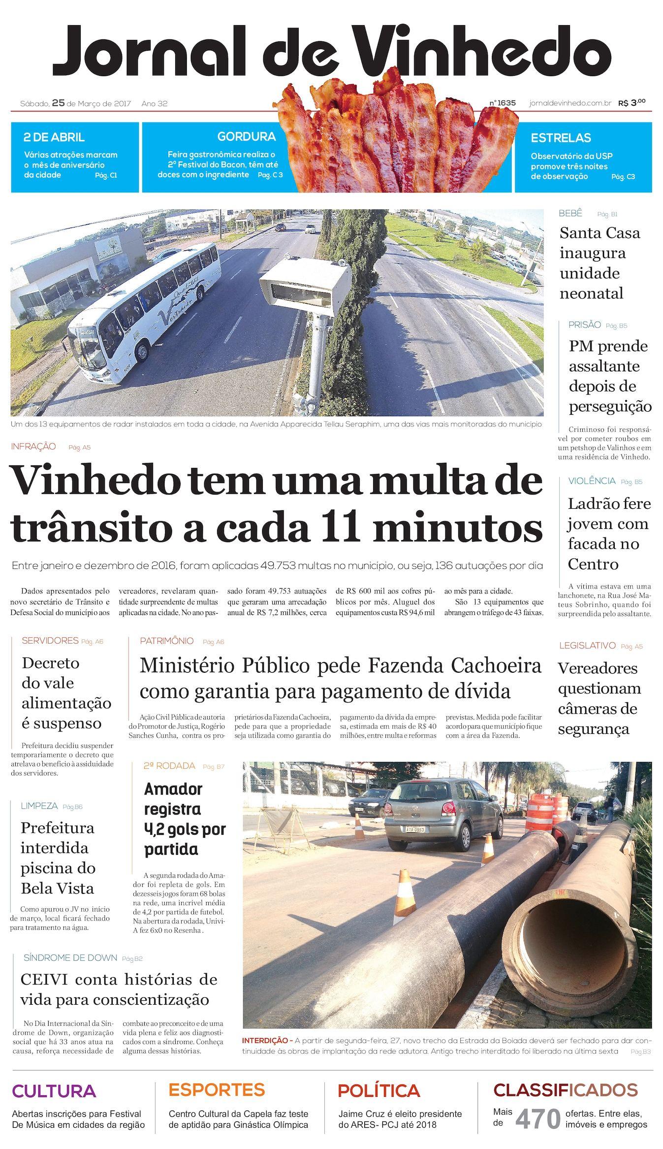 6b69e01e6f Calaméo - Jornal De Vinhedo Sabado 25 De Março De 2017 Edic 1635 Reduzido