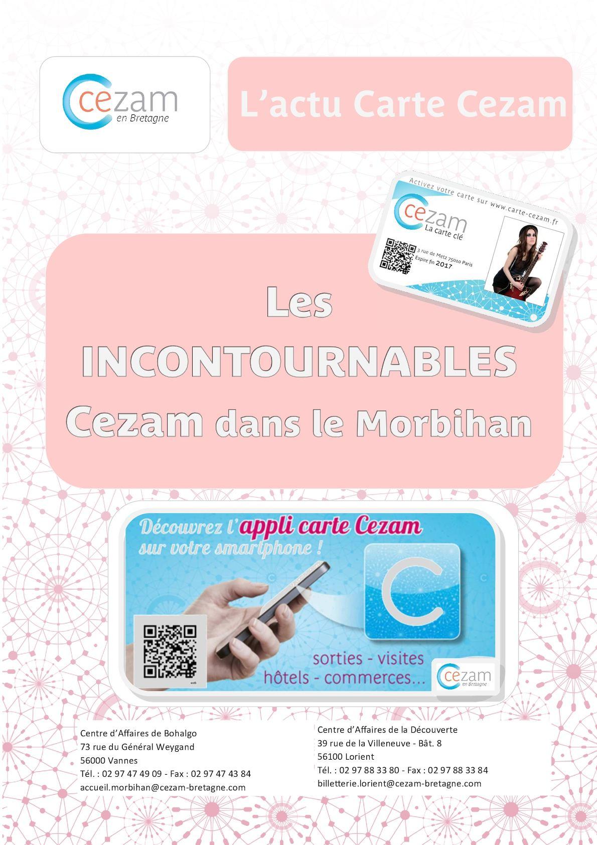 Carte Cezam Bretagne.Calameo Livret Salaries X 20