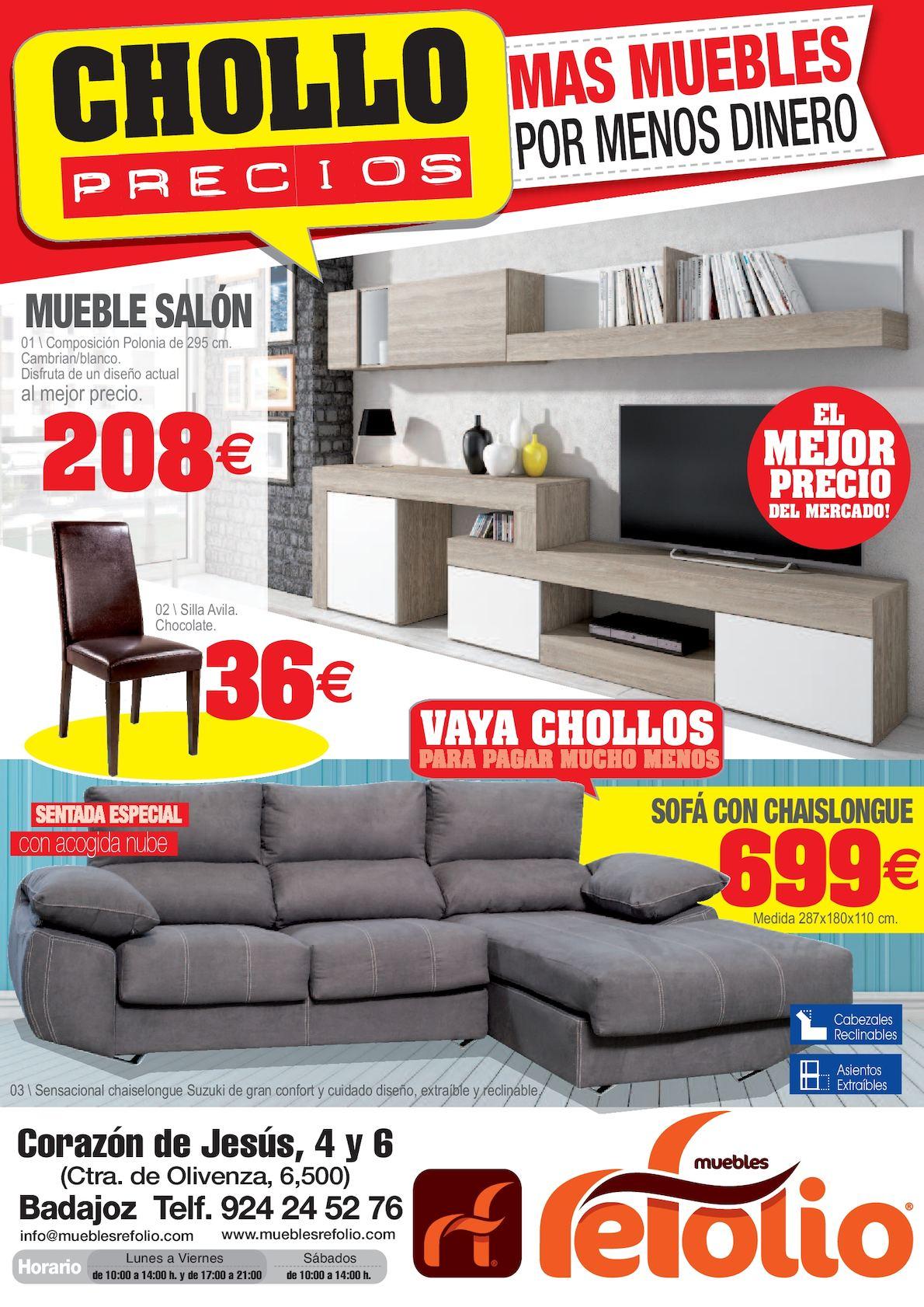 Muebles Refolio Sofas - Calam O Folletos Adavigal[mjhdah]http://refolio.es/wp-content/uploads/2015/02/DISFRUTA-TU-HOGAR-WEB.jpg